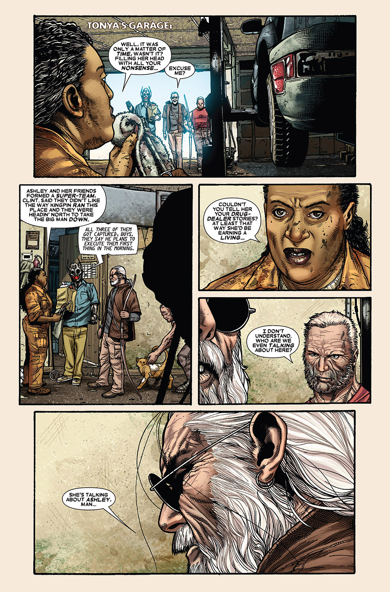 Read online Wolverine: Old Man Logan comic -  Issue # Full - 46