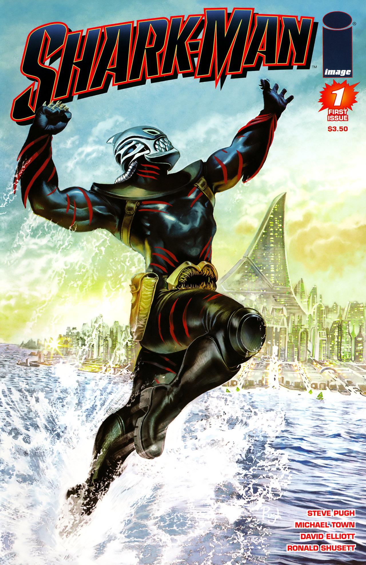 Read online Shark-Man comic -  Issue #1 - 1