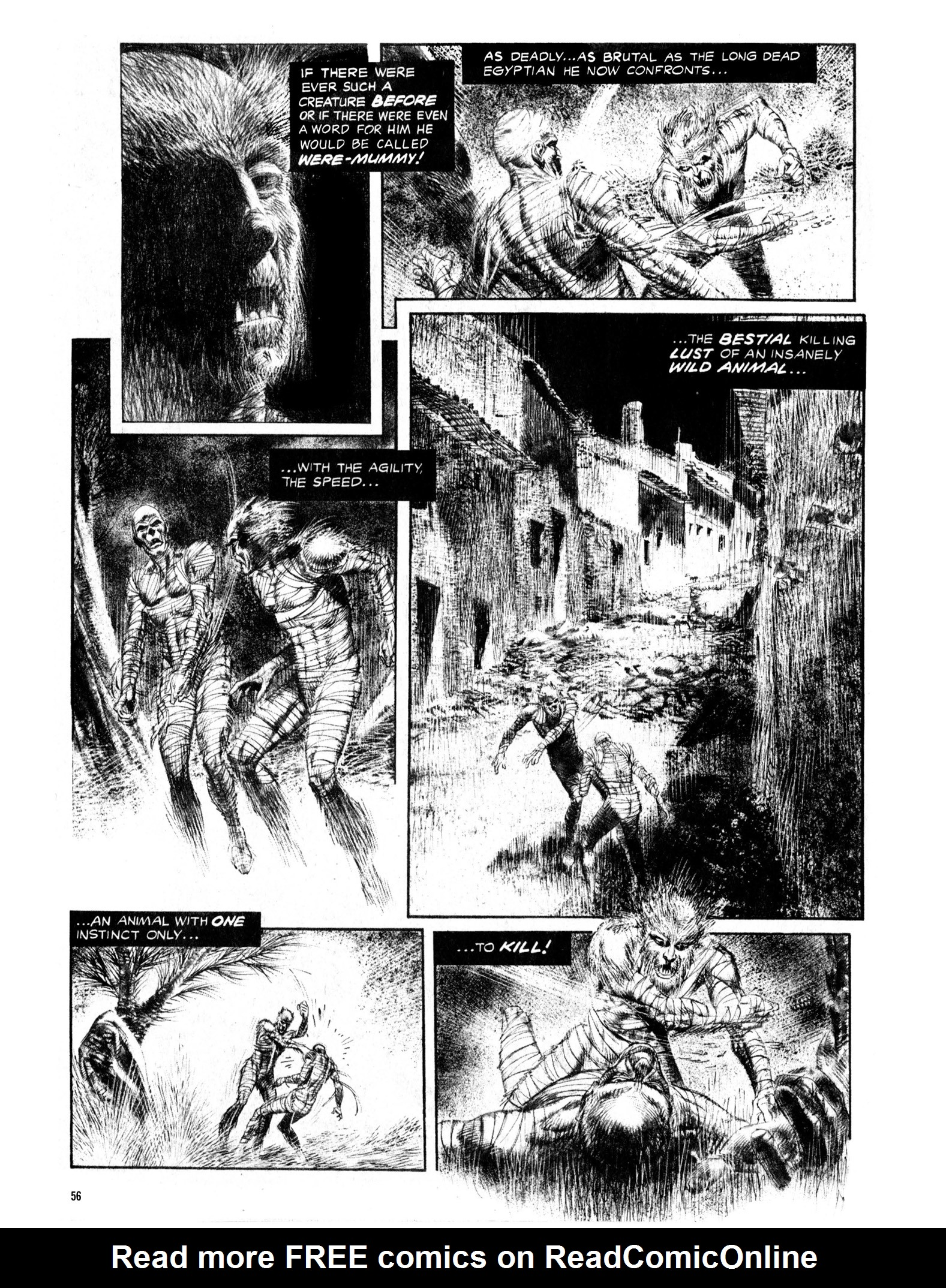 Read online Eerie Archives comic -  Issue # TPB 13 - 57