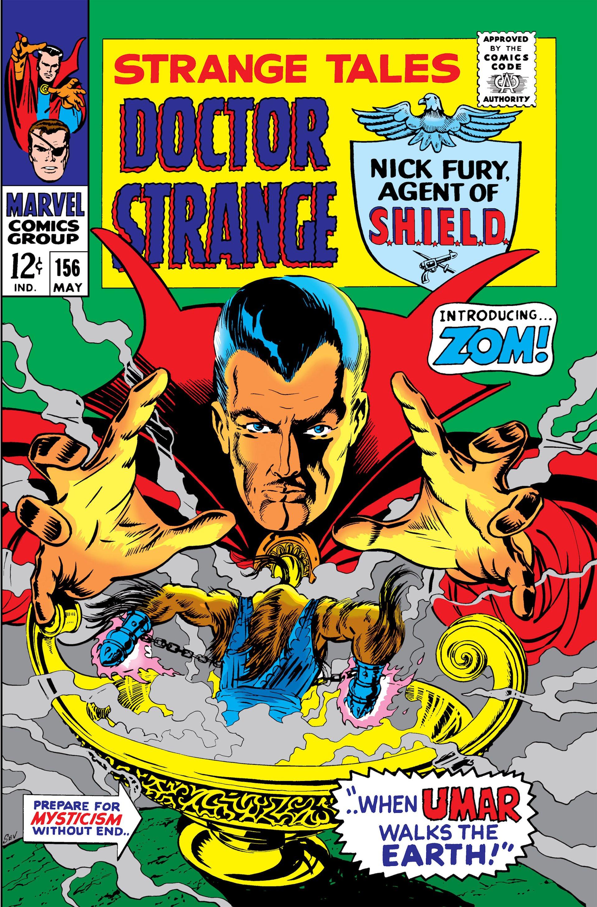 Strange Tales (1951) 156 Page 1