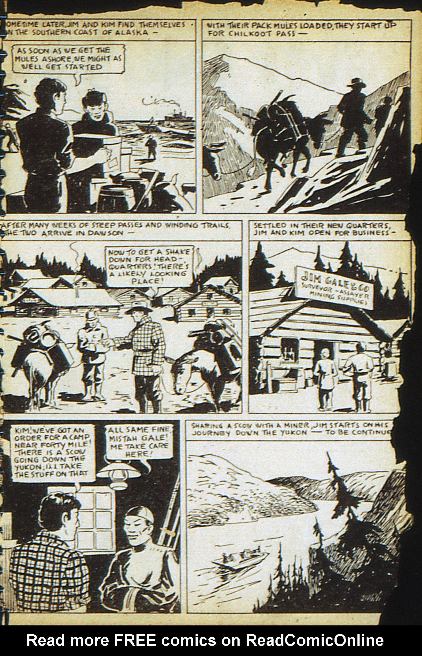 Read online Adventure Comics (1938) comic -  Issue #13 - 29