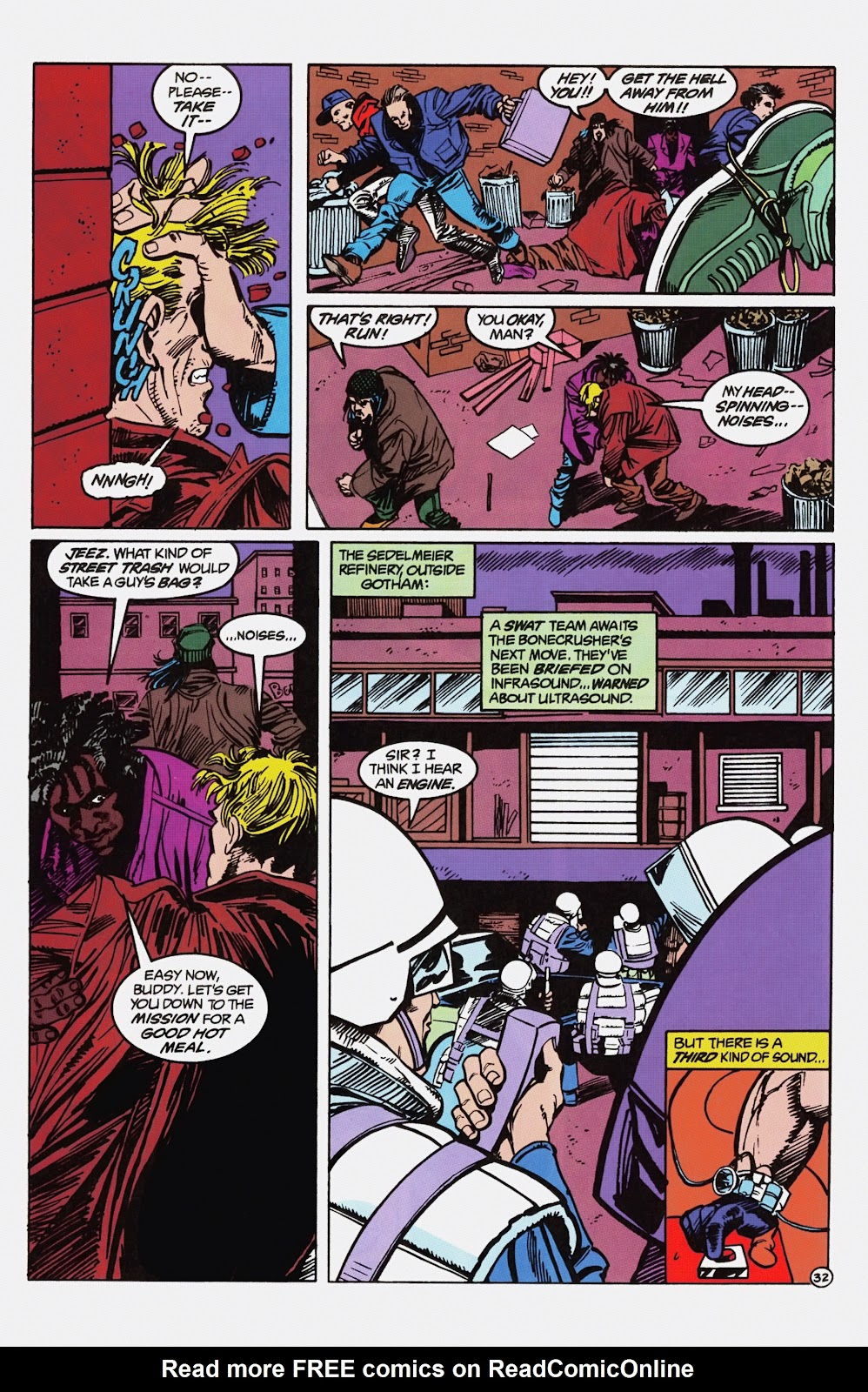 Read online Detective Comics (1937) comic -  Issue # _TPB Batman - Blind Justice (Part 1) - 37