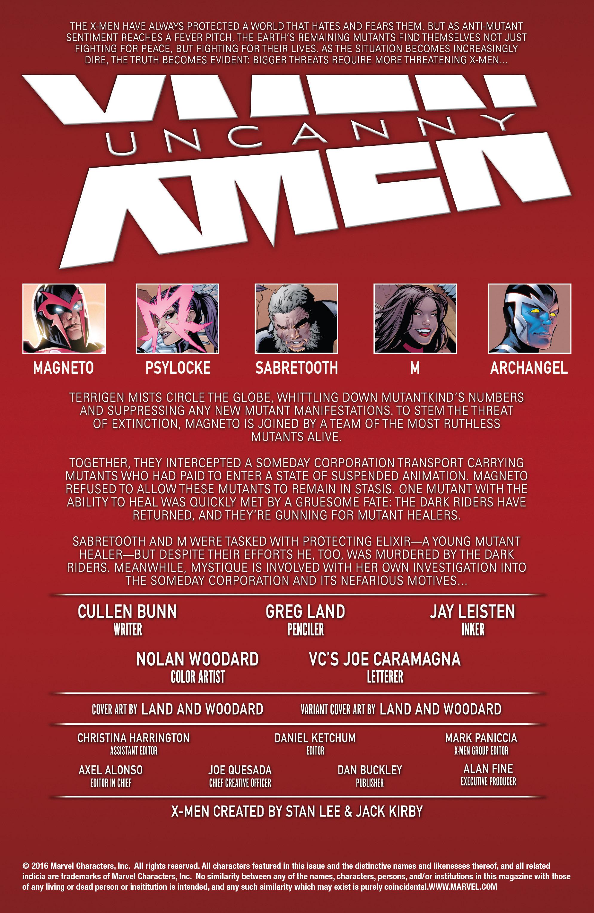 Read online Uncanny X-Men (2016) comic -  Issue #3 - 2