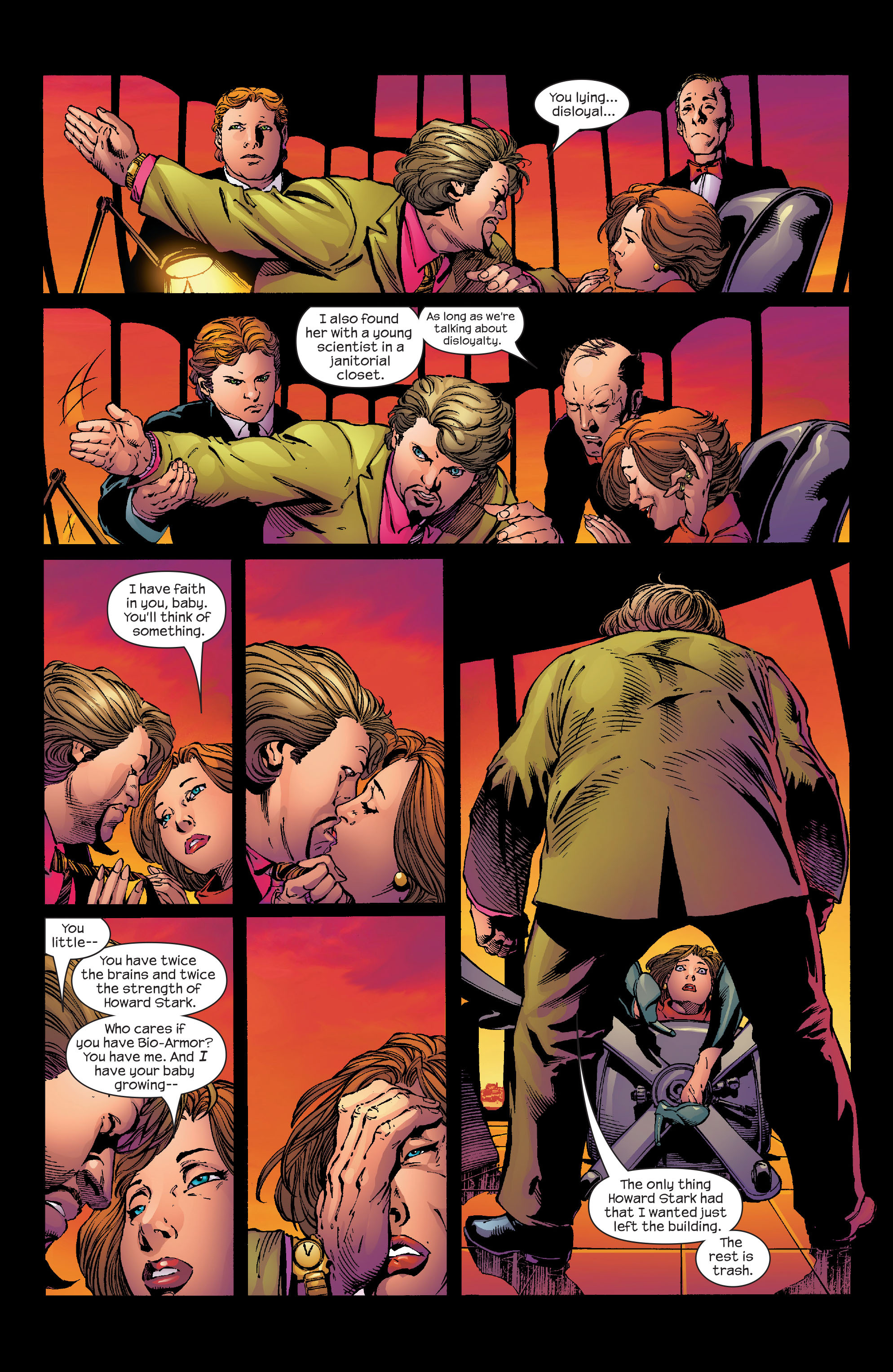 Read online Ultimate Iron Man (2005) comic -  Issue #2 - 12