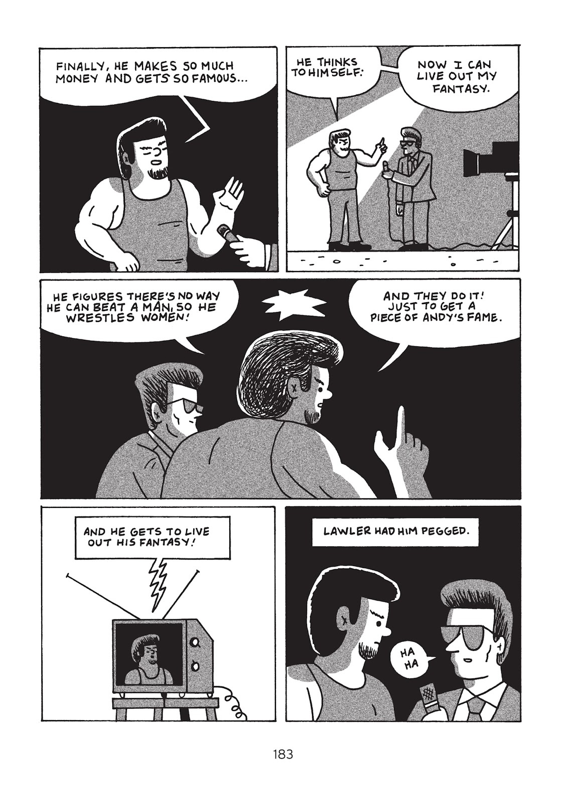 Read online Is This Guy For Real?: The Unbelievable Andy Kaufman comic -  Issue # TPB (Part 2) - 88