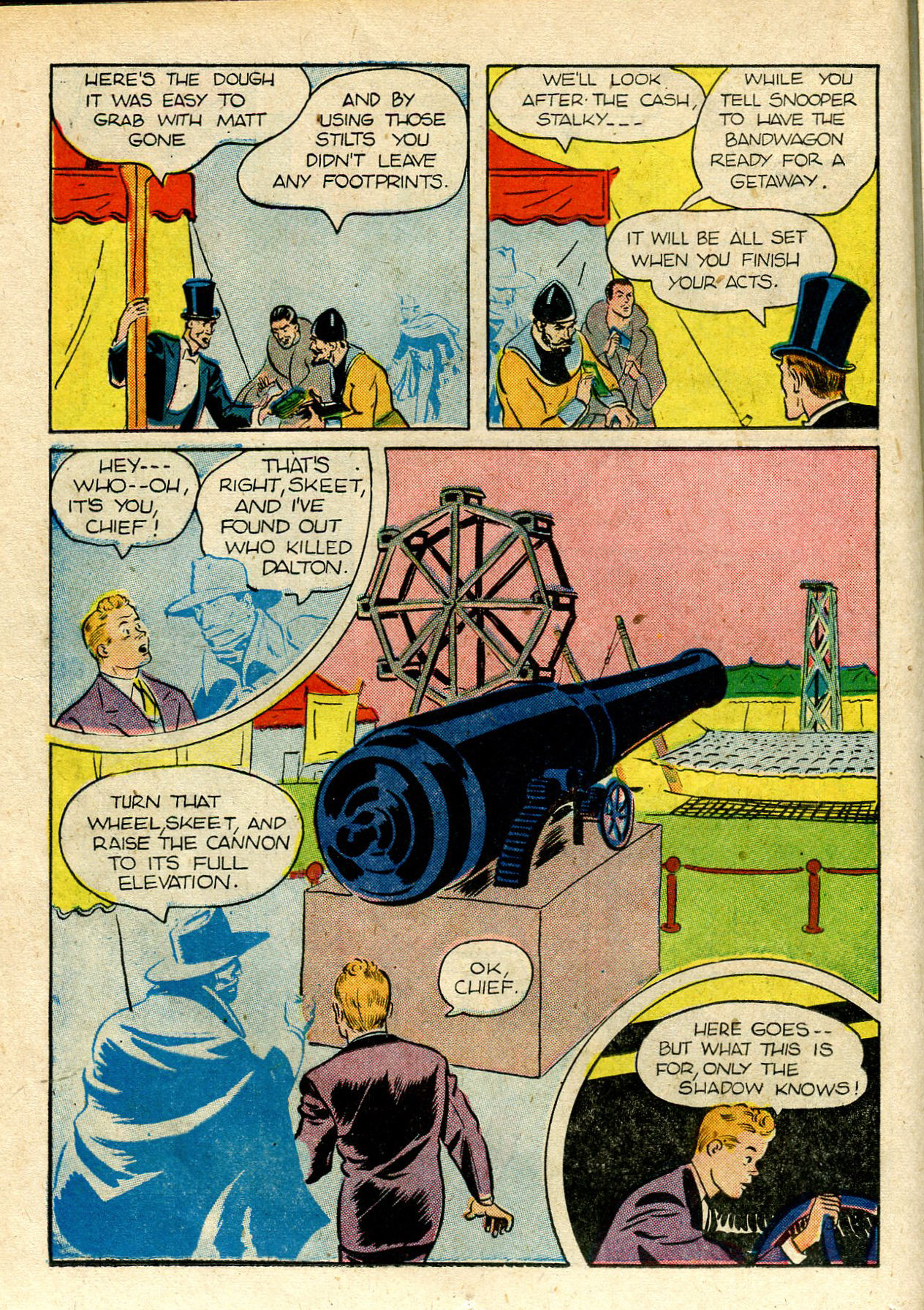 Read online Shadow Comics comic -  Issue #33 - 24
