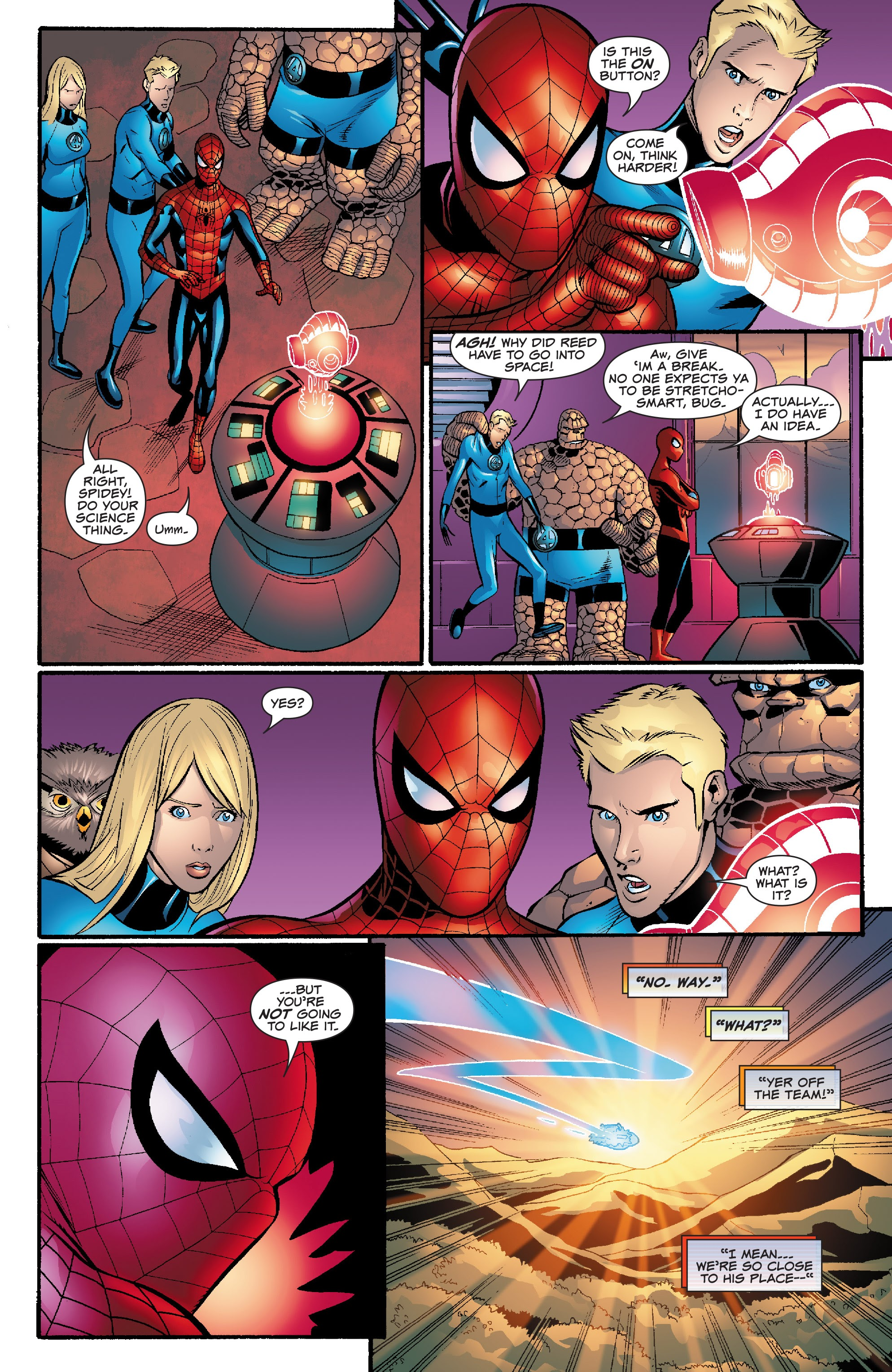 Spider-Man and the Fantastic Four issue 3 - Page 17