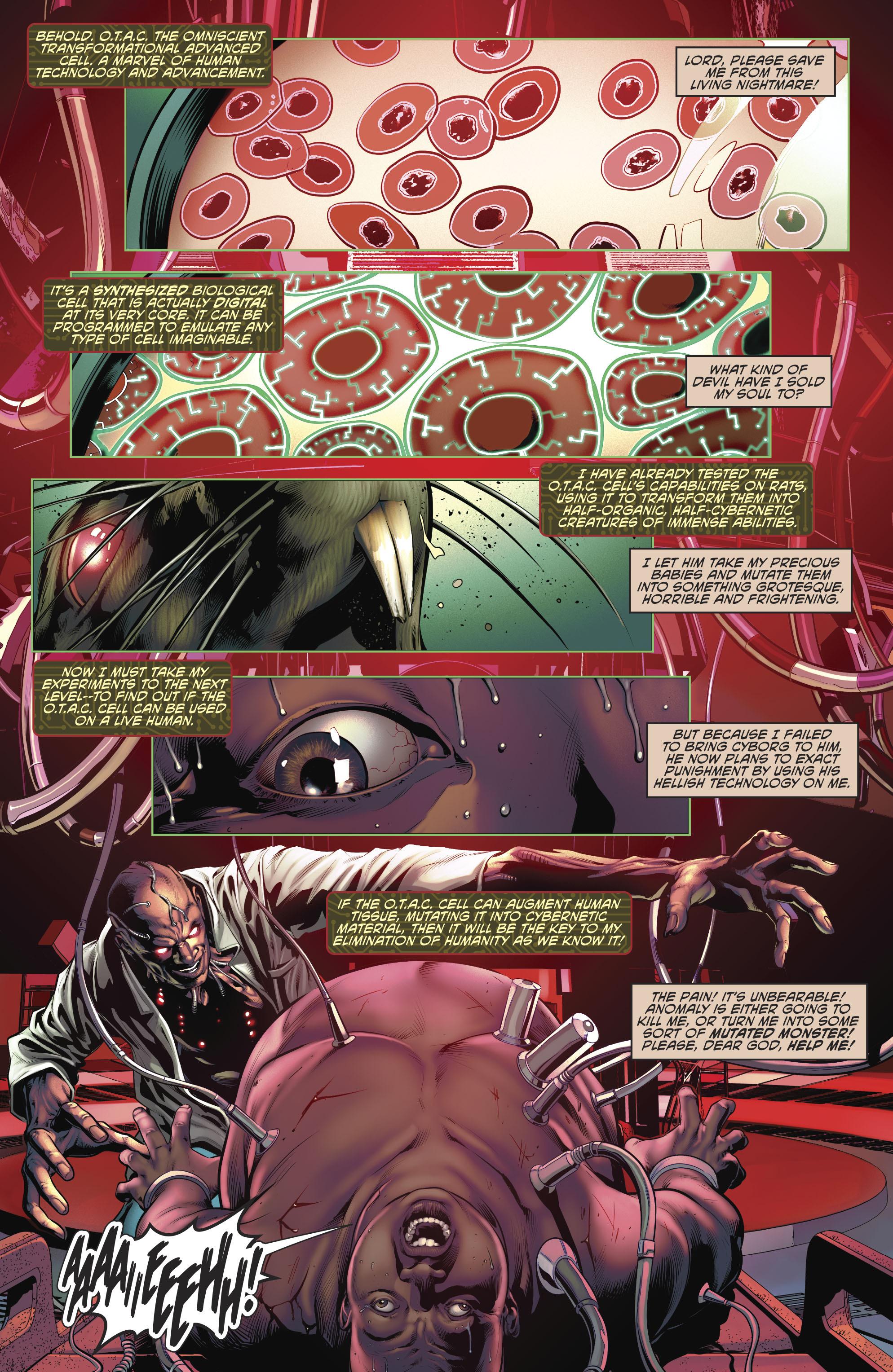 Read online Cyborg (2016) comic -  Issue #12 - 4