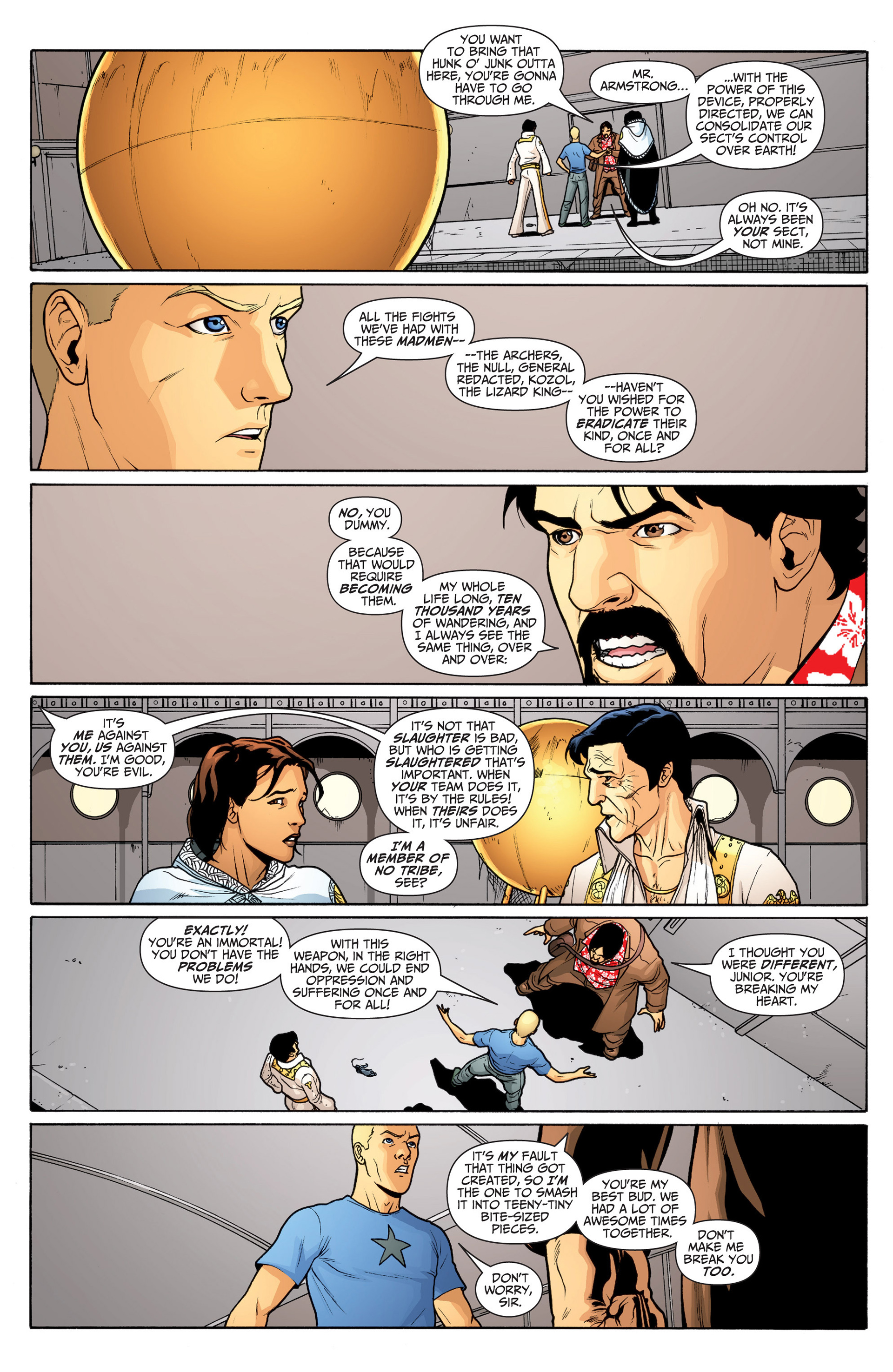 Read online Archer and Armstrong comic -  Issue #22 - 18