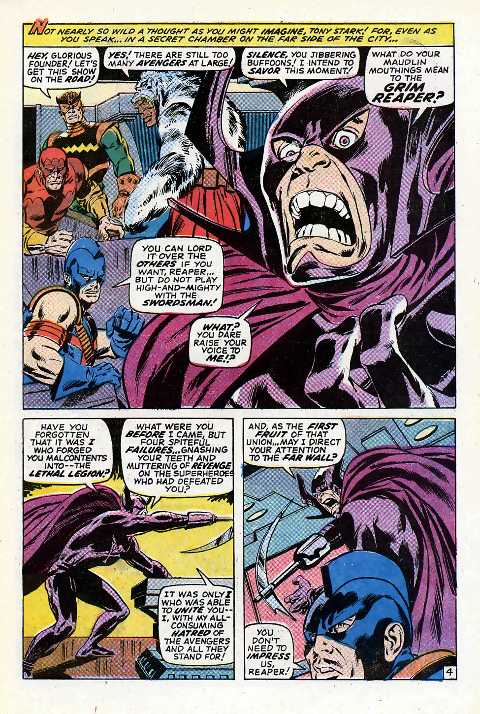 The Avengers (1963) 79 Page 4