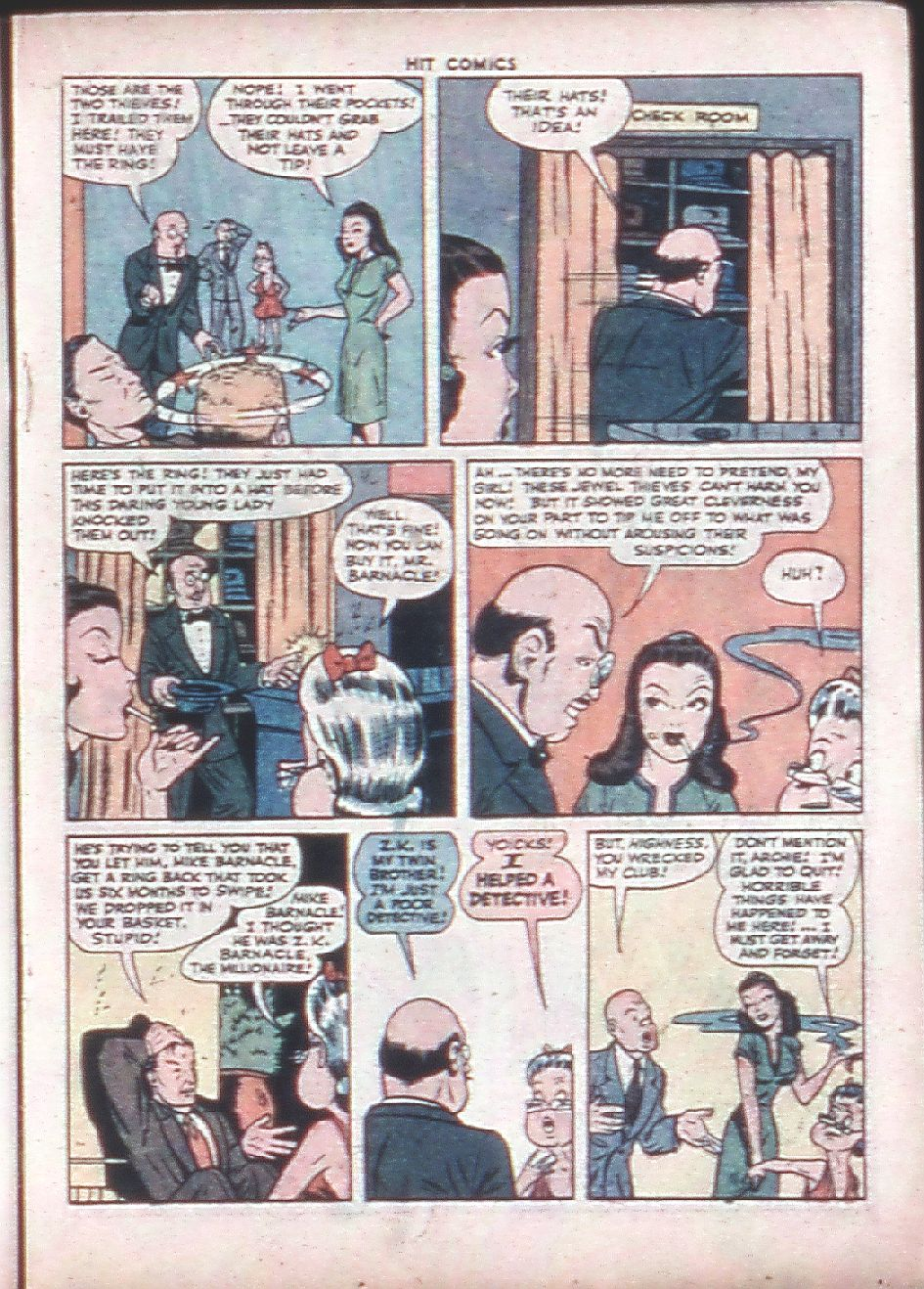 Read online Hit Comics comic -  Issue #36 - 29