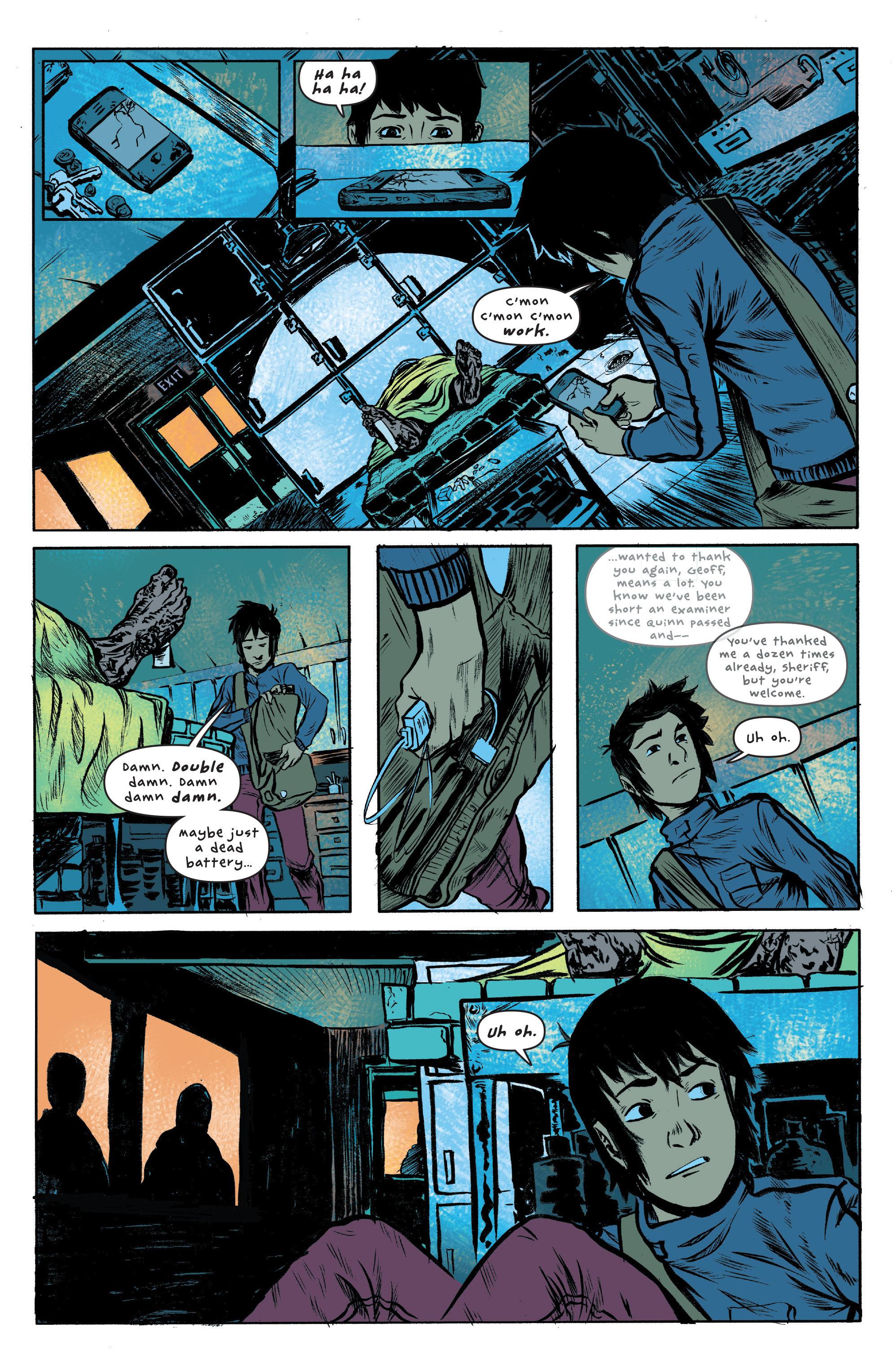 Read online UFOlogy comic -  Issue #2 - 12