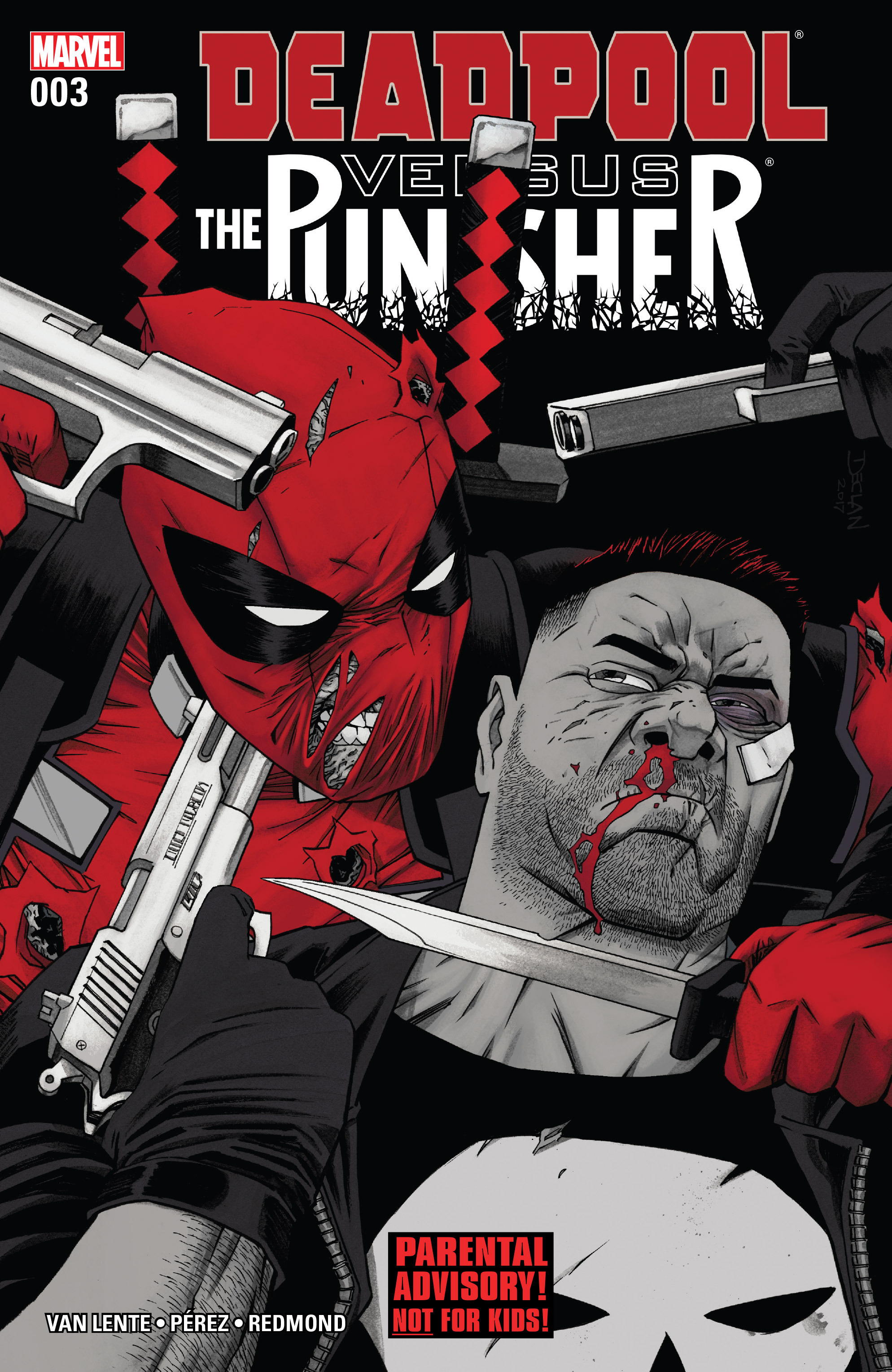 Read online Deadpool vs. The Punisher comic -  Issue #3 - 1