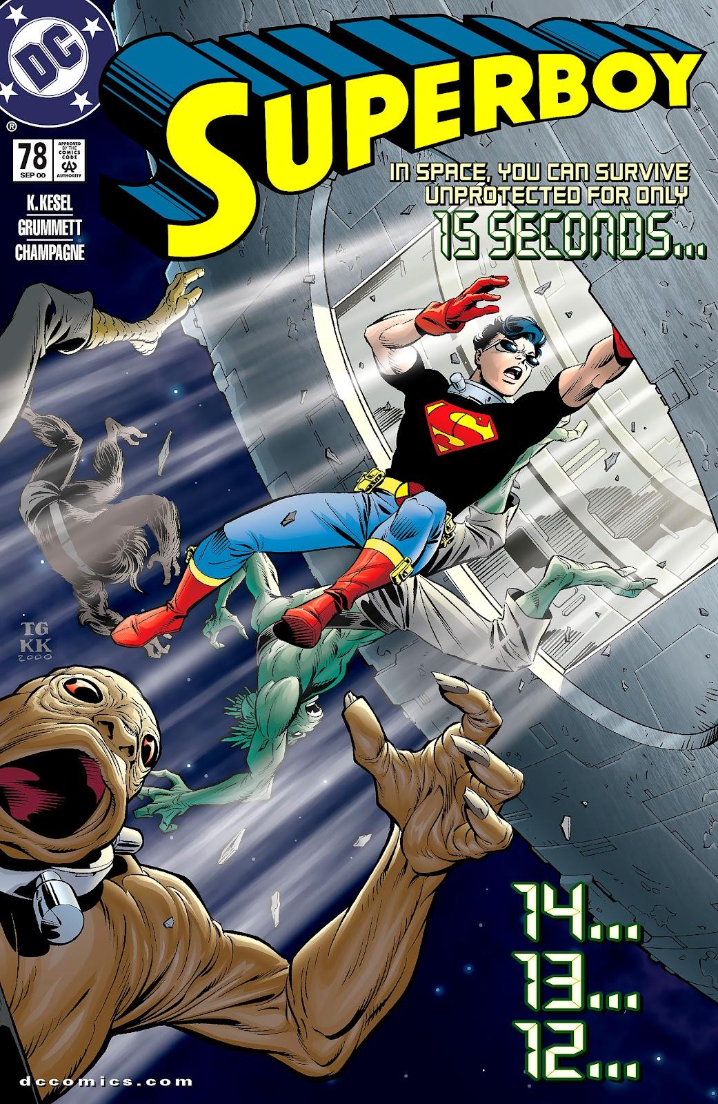 Superboy (1994) 78 Page 1