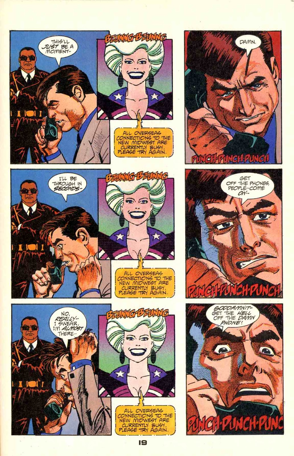 Howard Chaykin's American Flagg issue 2 - Page 21