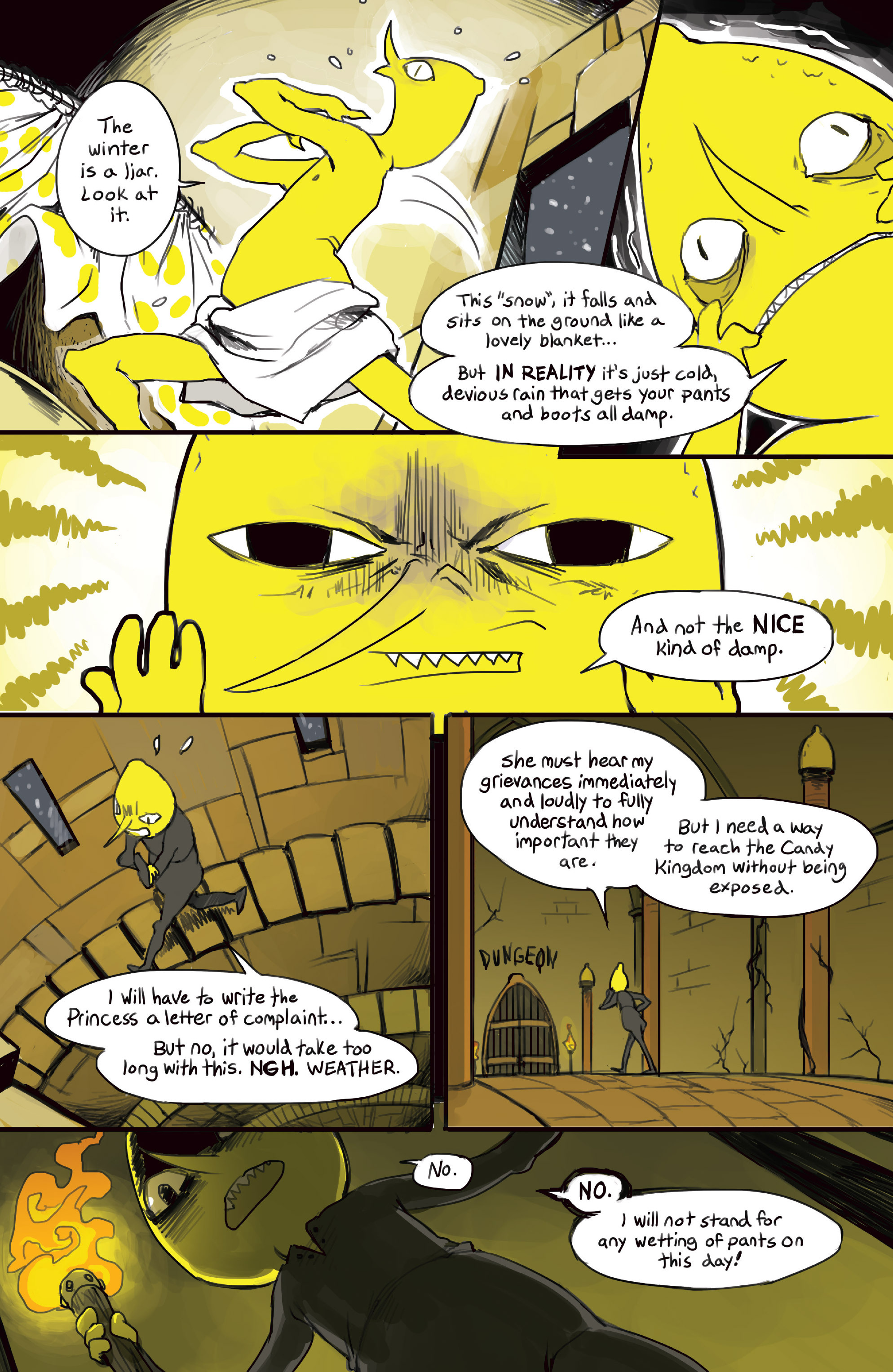 Read online Adventure Time 2014 Winter Special comic -  Issue #Adventure Time 2014 Winter Special Full - 23