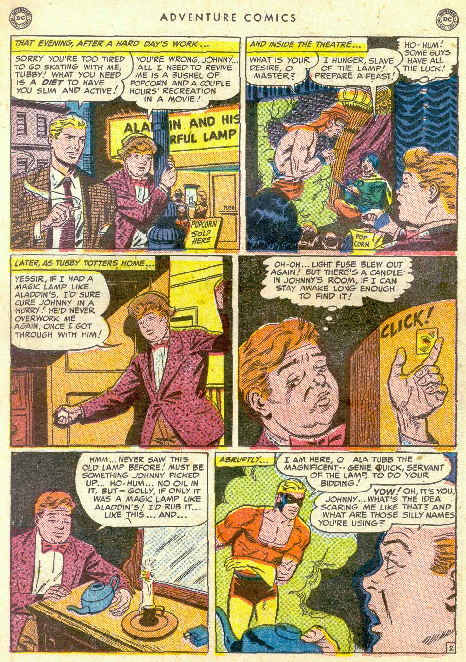 Read online Adventure Comics (1938) comic -  Issue #161 - 26