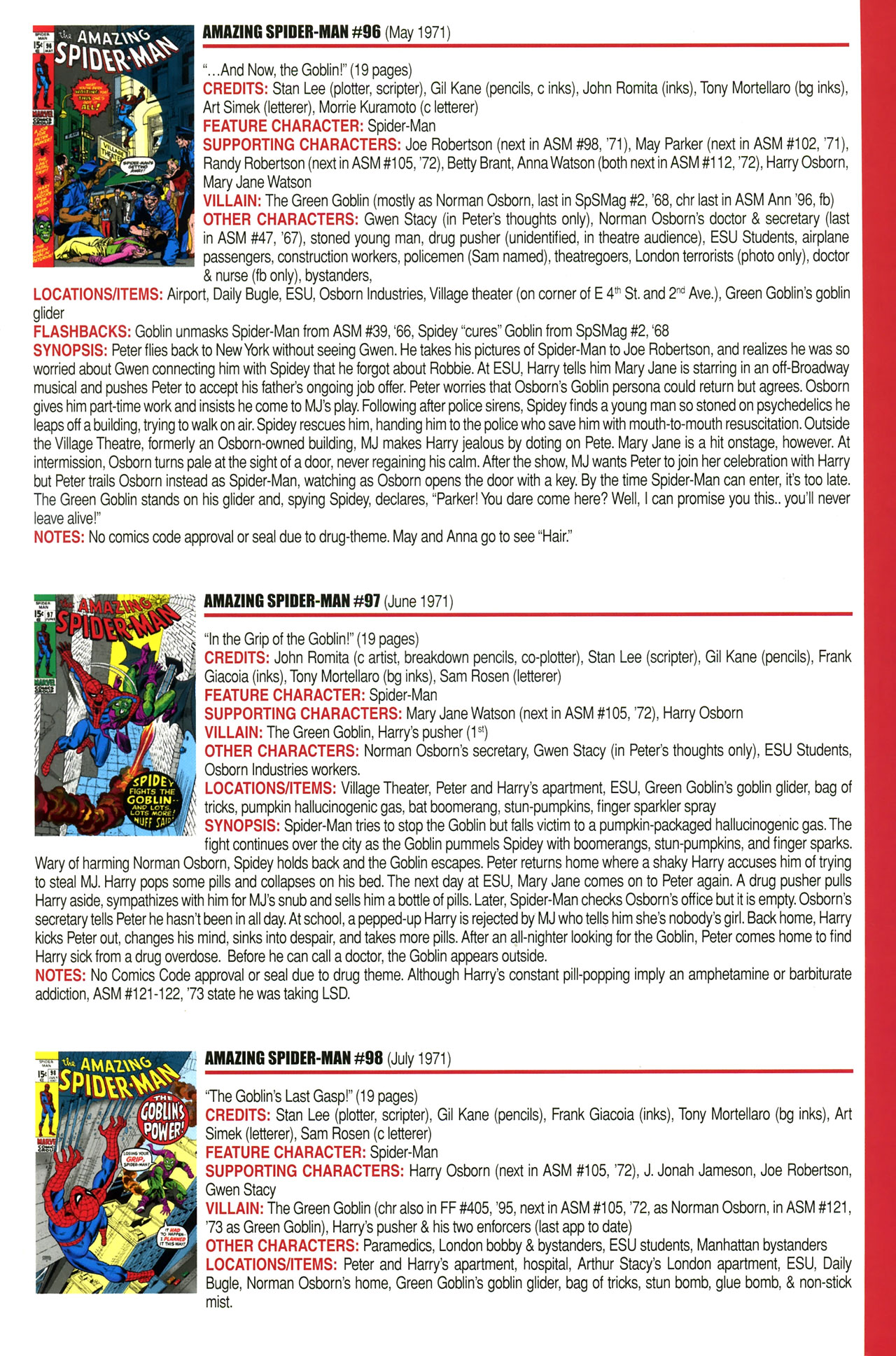 Read online Official Index to the Marvel Universe comic -  Issue #2 - 21