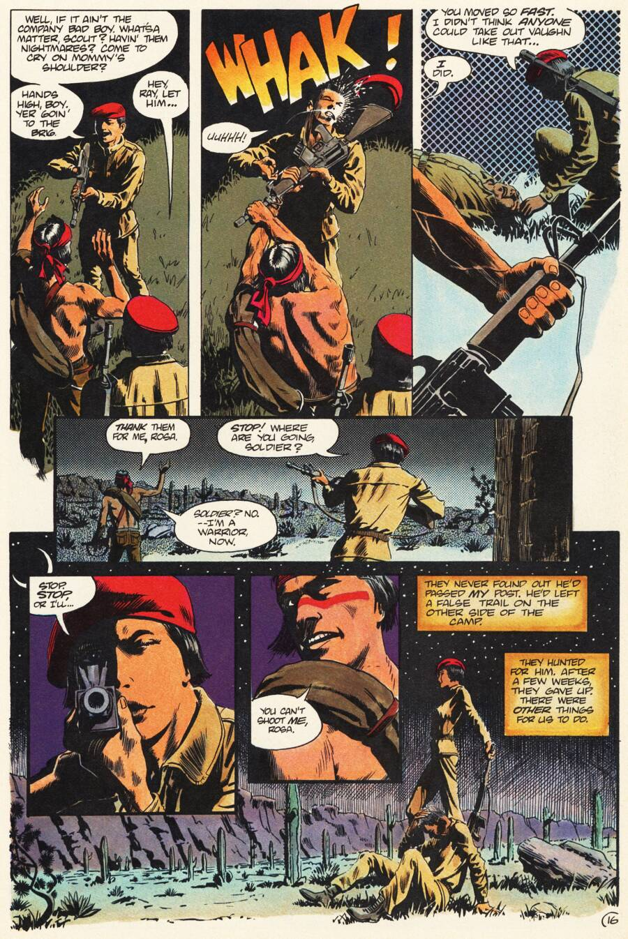 Read online Scout comic -  Issue #7 - 18