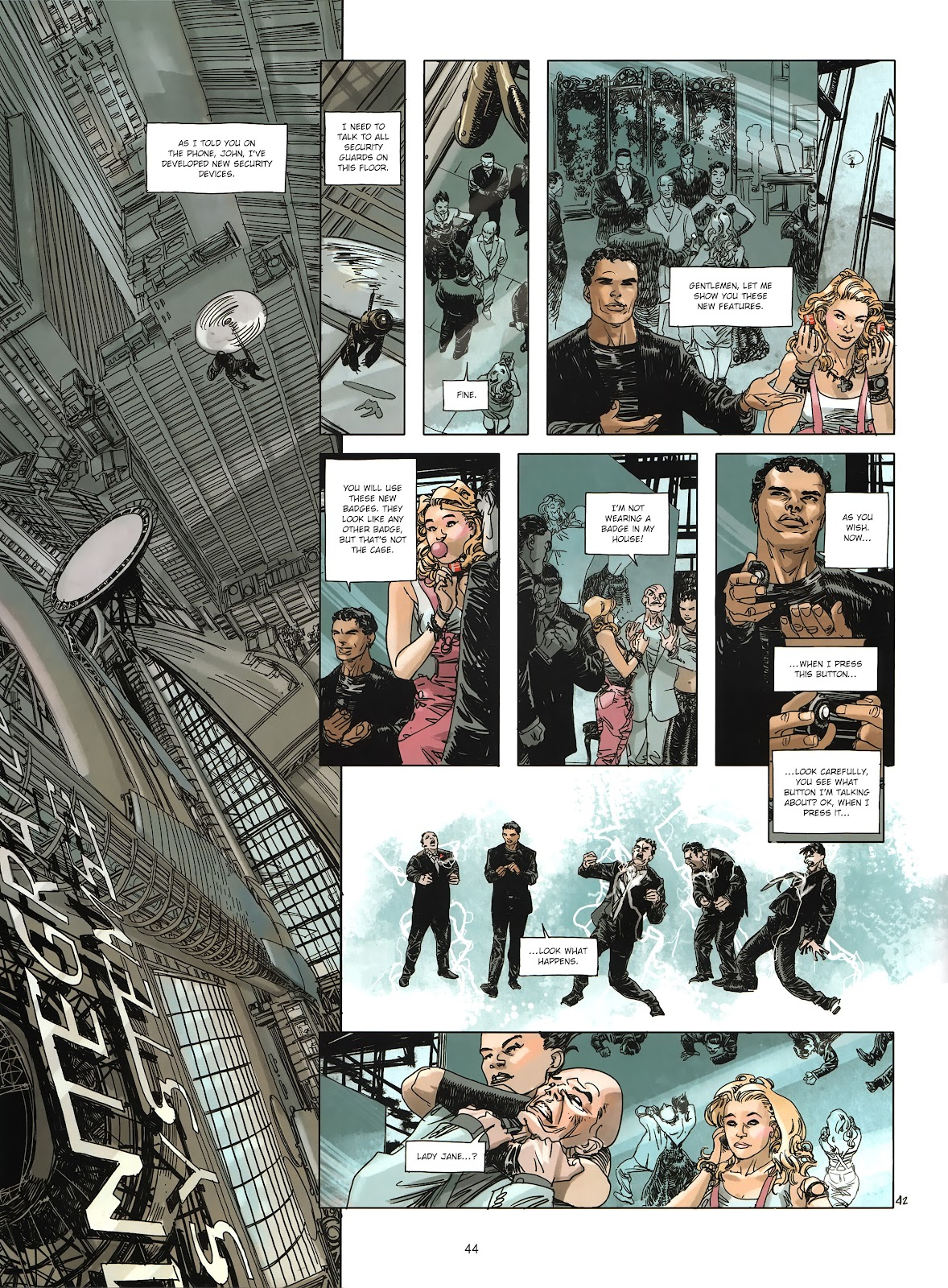 Read online Cutting Edge (2013) comic -  Issue #3 - 41