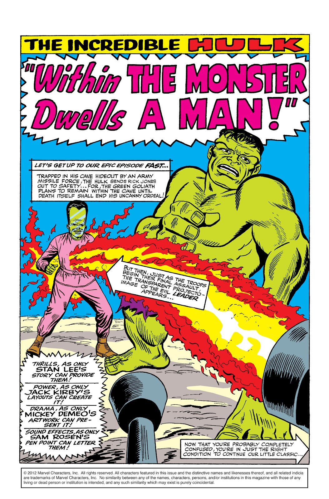 Read online Marvel Masterworks: The Incredible Hulk comic -  Issue # TPB 2 (Part 2) - 57