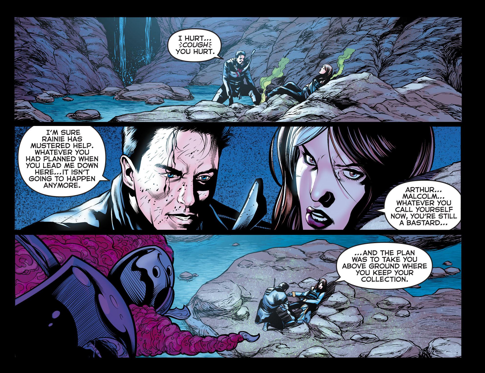 Read online Arrow: The Dark Archer comic -  Issue #10 - 15