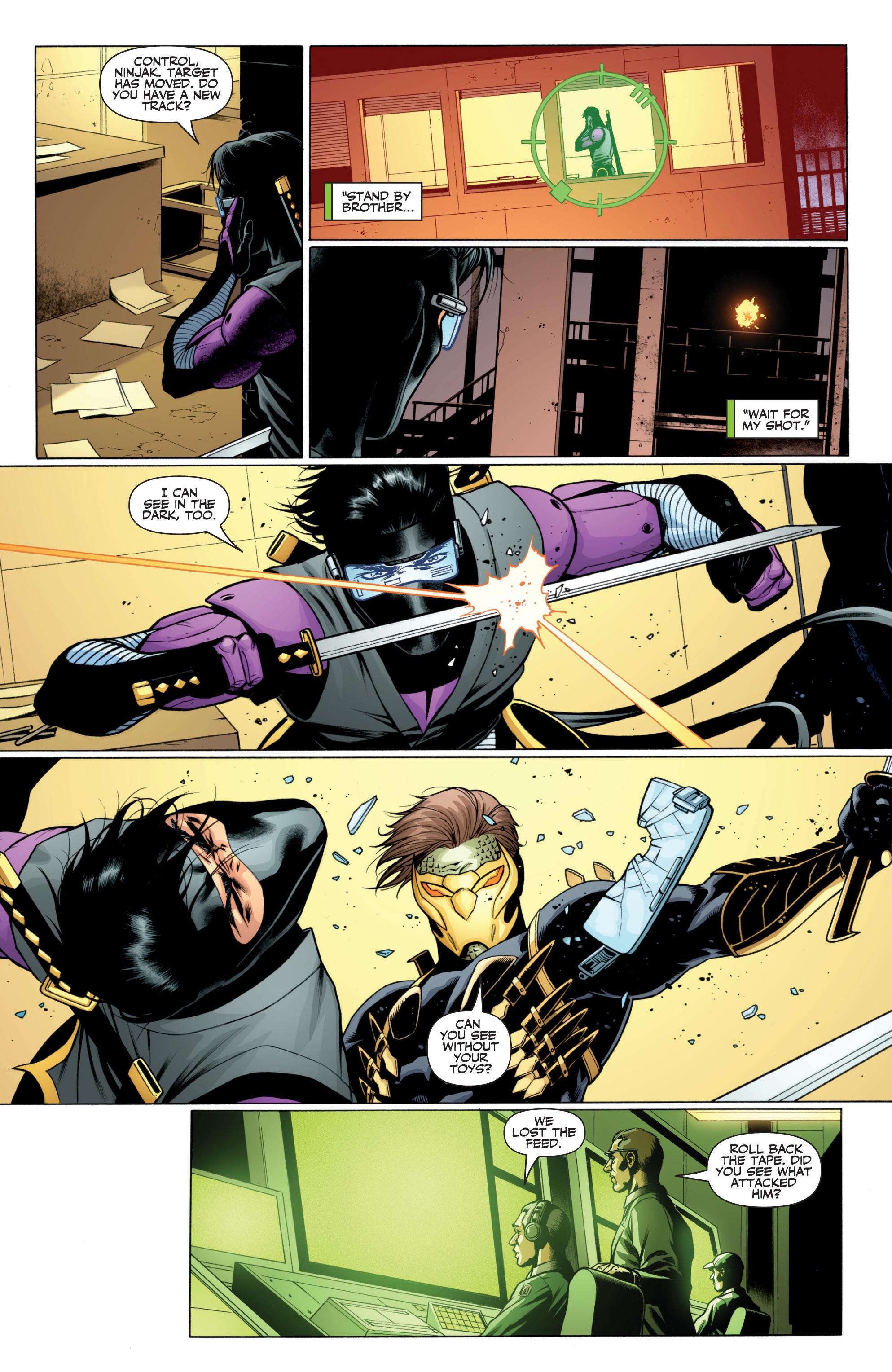 Read online Ninjak (2015) comic -  Issue #27 - 12