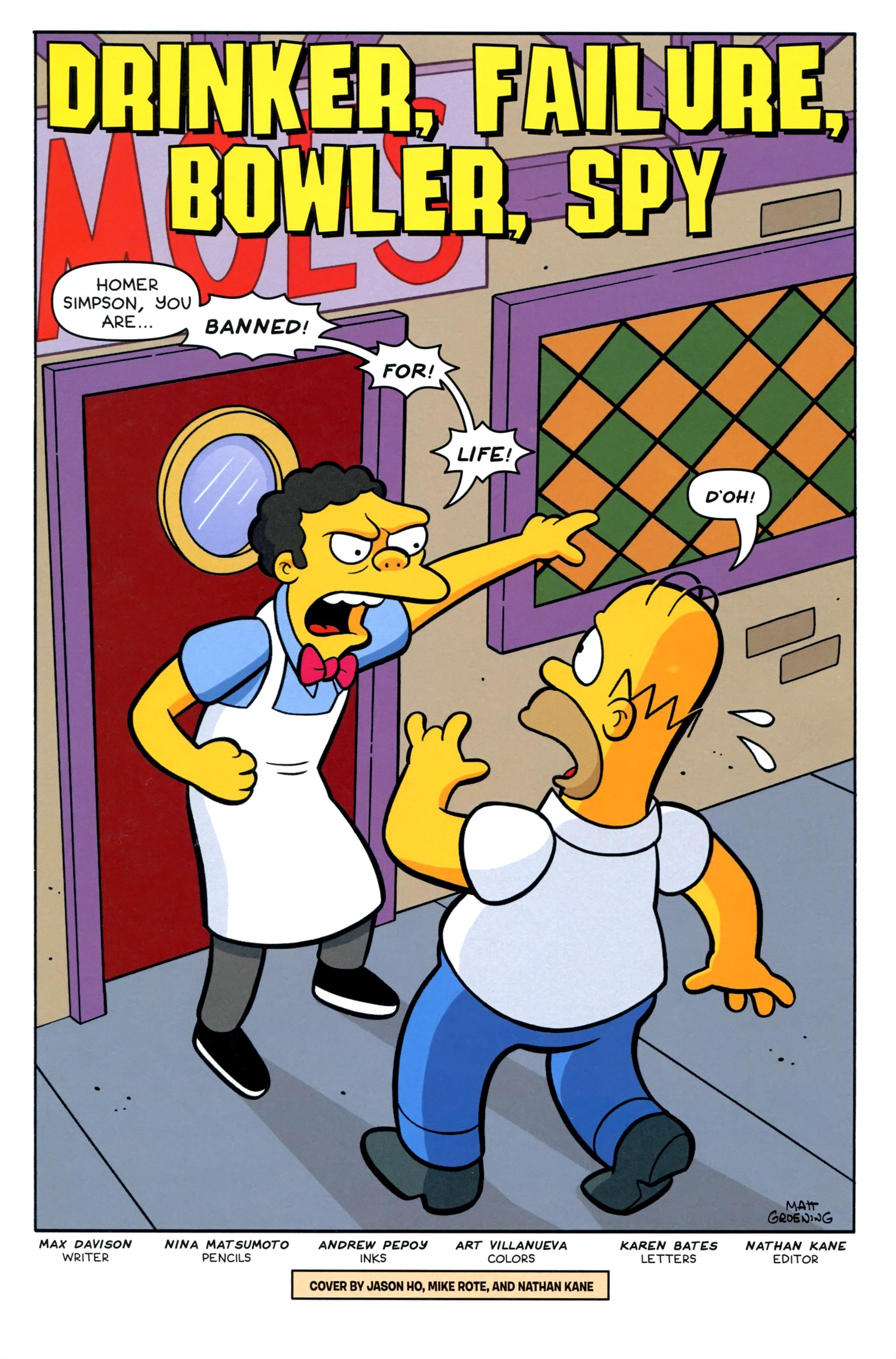 Read online Simpsons Comics comic -  Issue #220 - 3