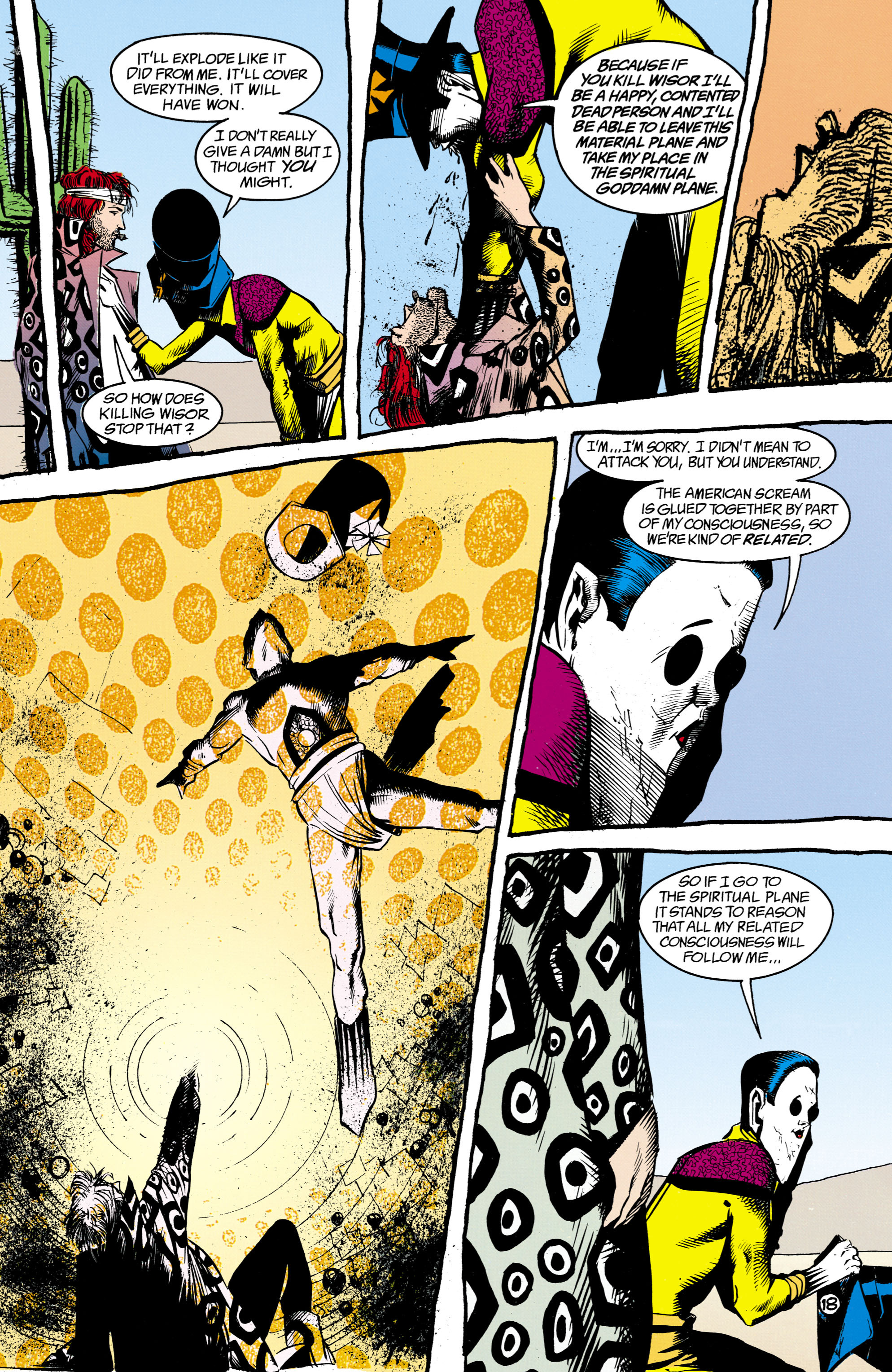Read online Shade, the Changing Man comic -  Issue #16 - 18
