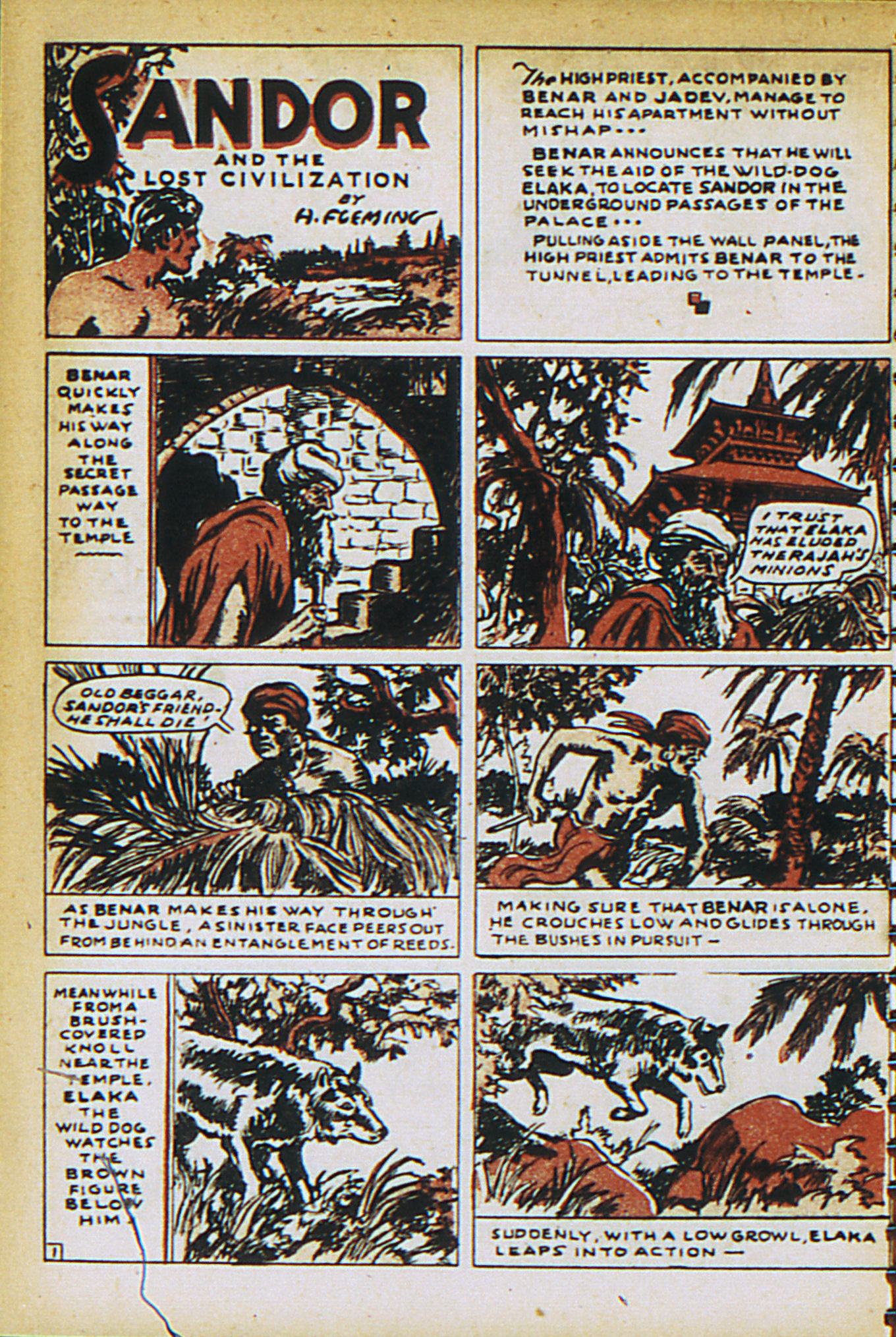 Read online Adventure Comics (1938) comic -  Issue #27 - 38