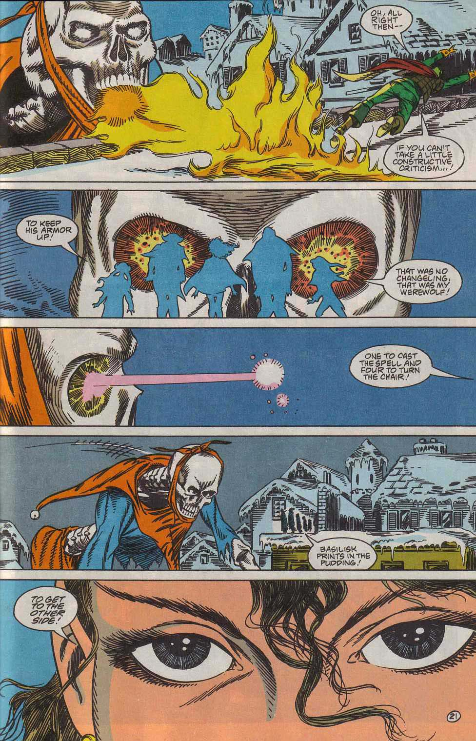 Read online Advanced Dungeons & Dragons comic -  Issue #7 - 22