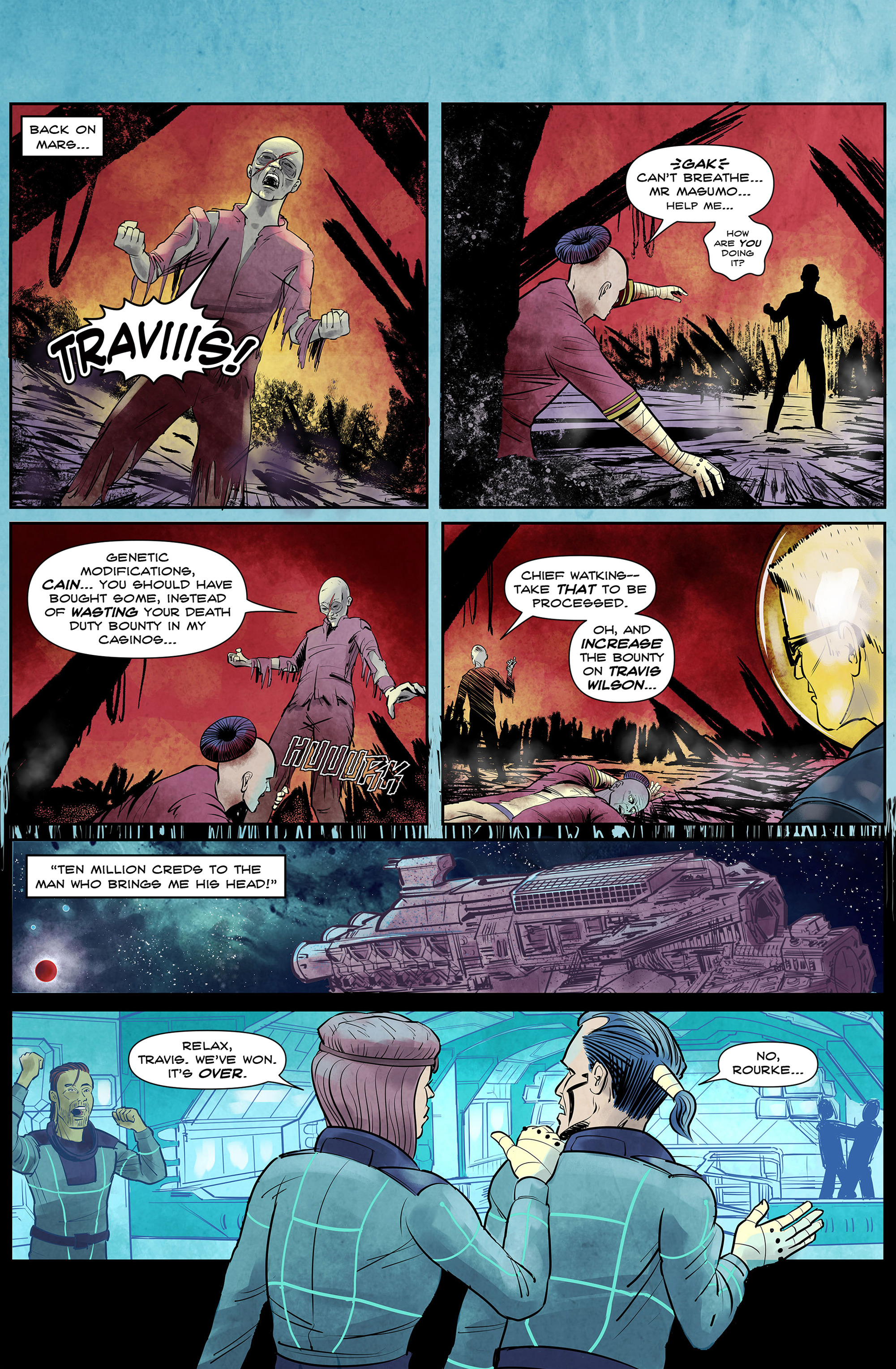 Read online 100% Biodegradable comic -  Issue #14 - 35