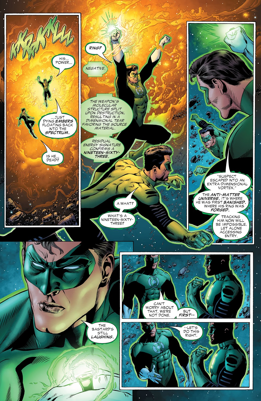 Read online Green Lantern by Geoff Johns comic -  Issue # TPB 1 (Part 2) - 27