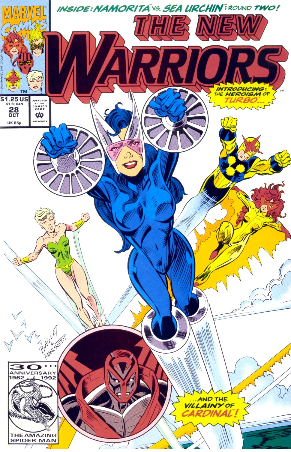The New Warriors Issue #28 #32 - English 1