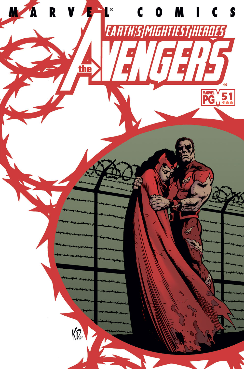Read online Avengers (1998) comic -  Issue #51 - 1
