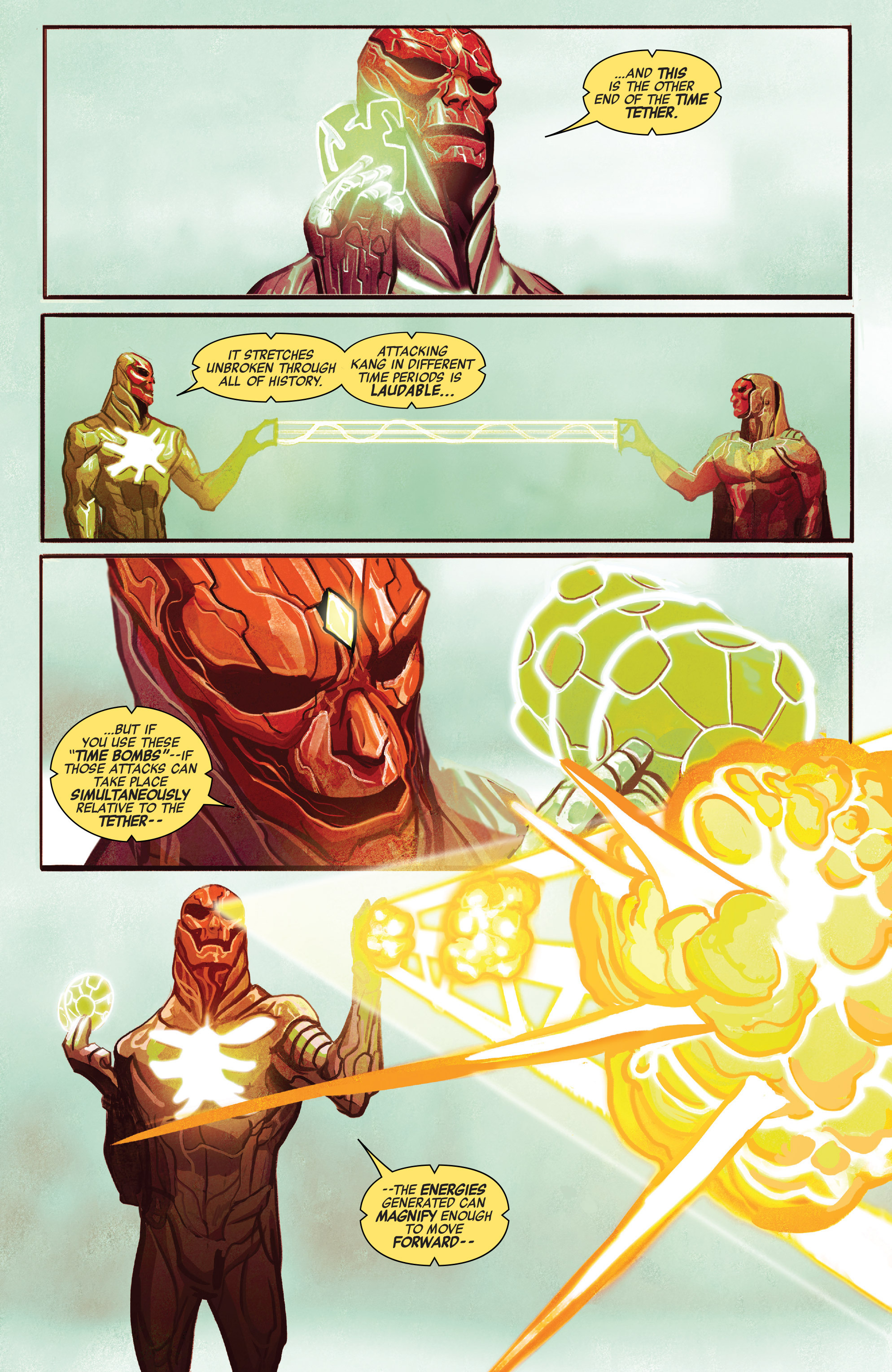 Read online Avengers (2016) comic -  Issue #5 - 6
