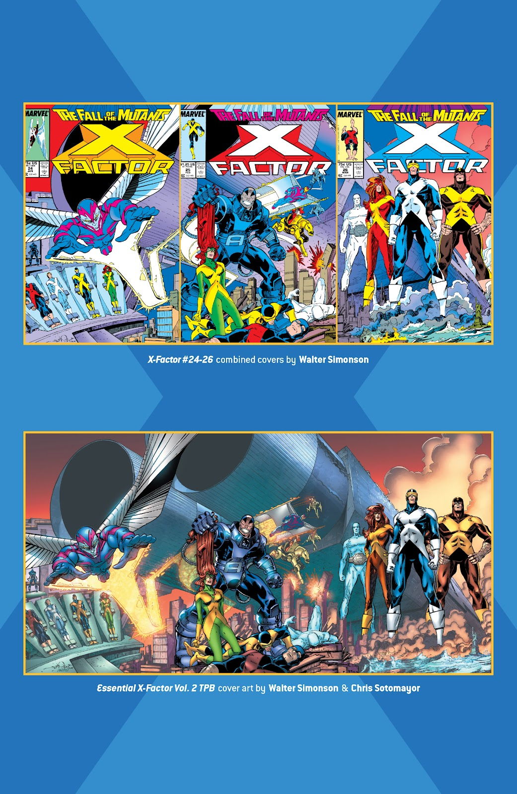 Read online X-Men Milestones: Fall of the Mutants comic -  Issue # TPB (Part 3) - 44