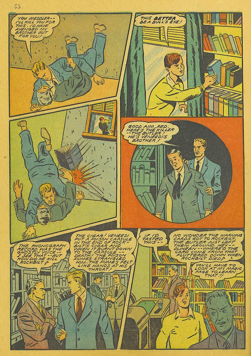 Read online Super-Magician Comics comic -  Issue #10 - 56