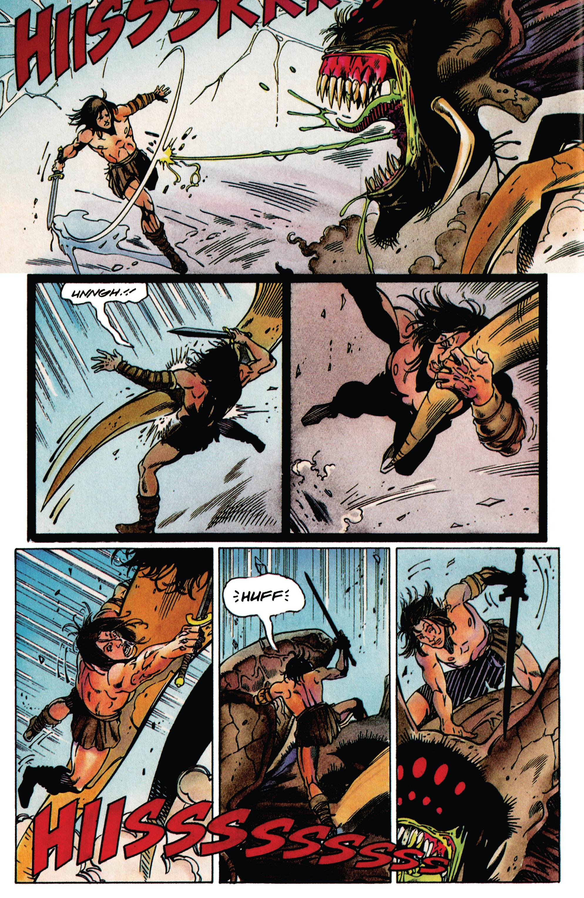 Read online Eternal Warrior (1992) comic -  Issue #38 - 14
