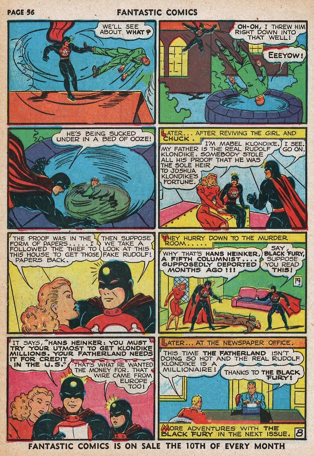 Read online Fantastic Comics comic -  Issue #20 - 56
