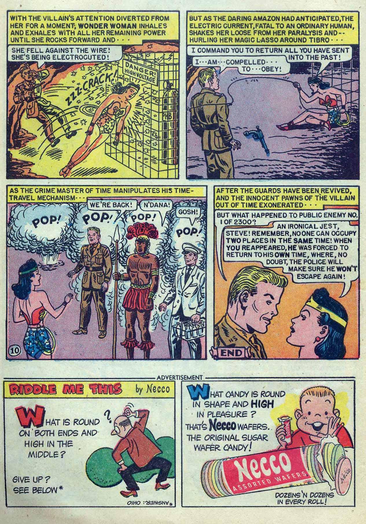 Read online Wonder Woman (1942) comic -  Issue #53 - 12