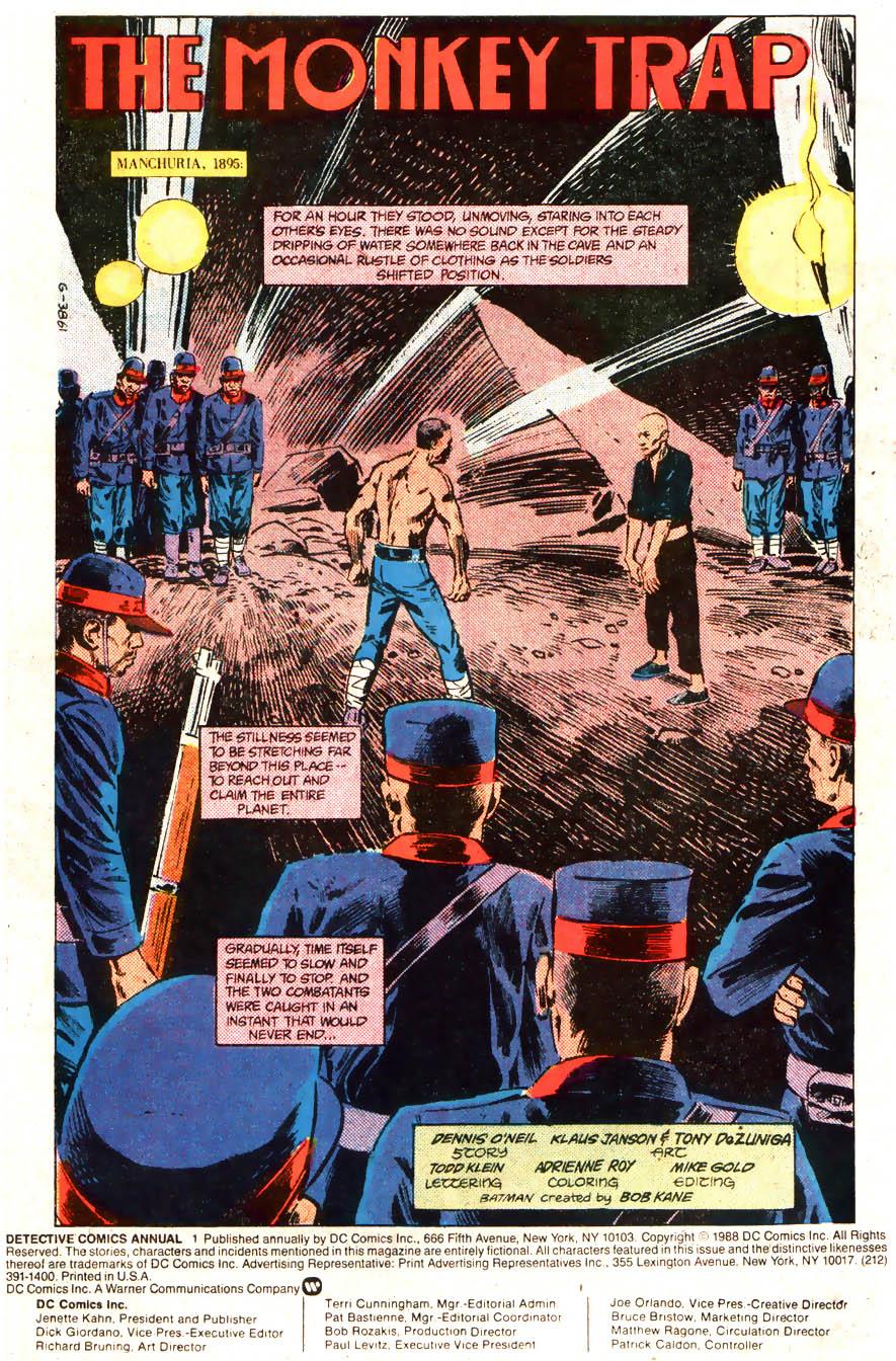 Read online Detective Comics (1937) comic -  Issue # _Annual 1 - 2