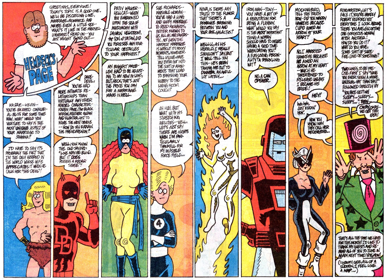 Fred Hembeck Sells the Marvel Universe issue Full - Page 12