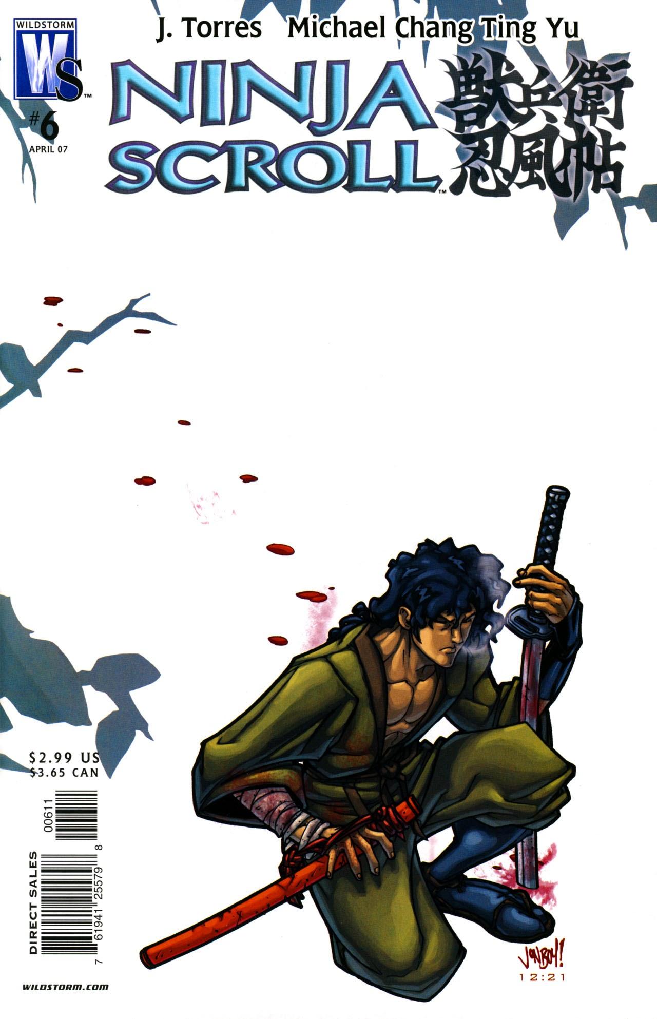 Ninja Scroll 006 Read All Comics Online For Free