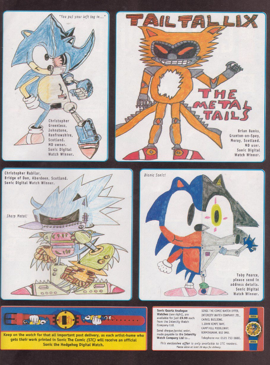 Read online Sonic the Comic comic -  Issue #114 - 22
