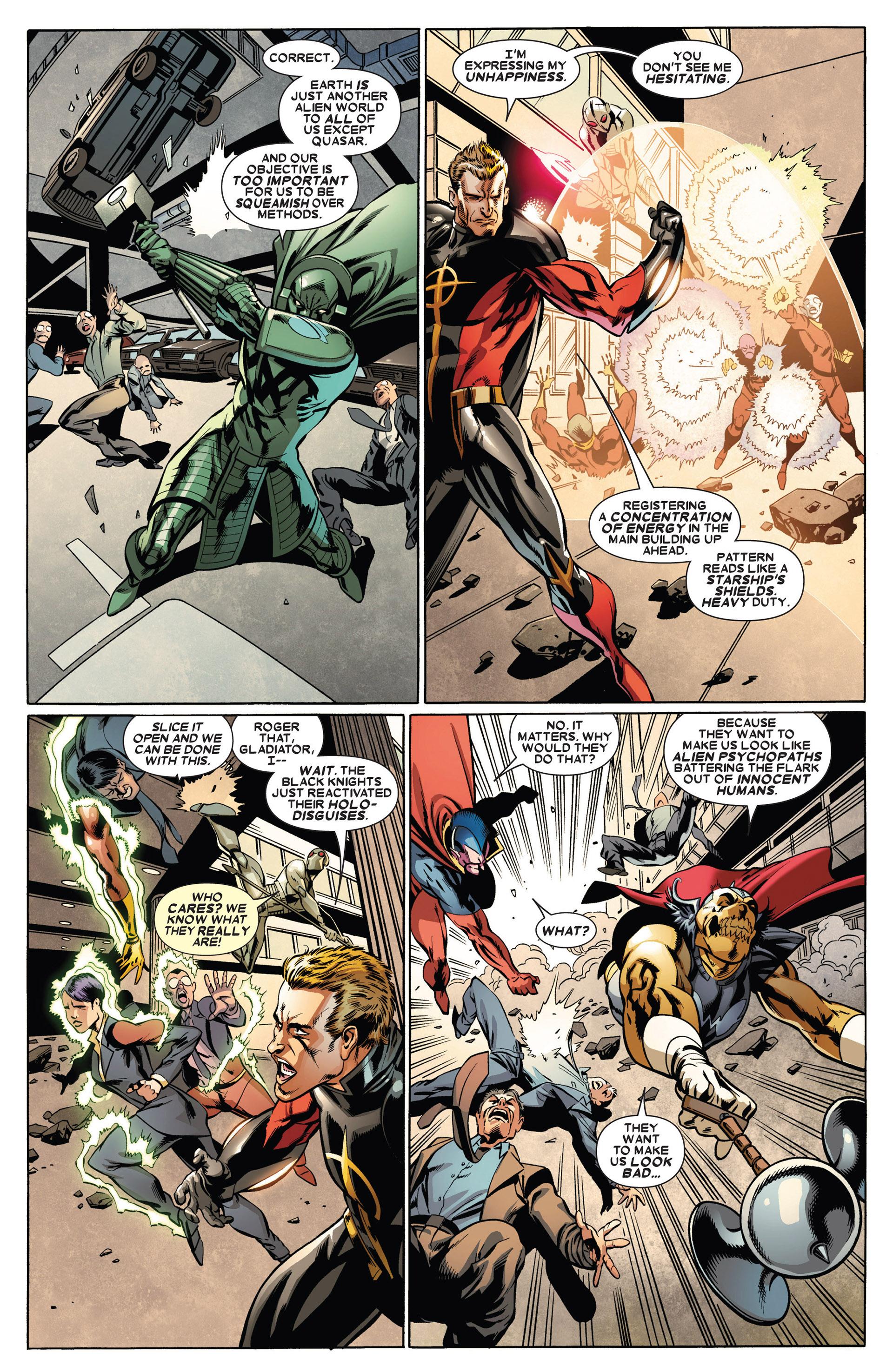 Read online Annihilators: Earthfall comic -  Issue #1 - 21