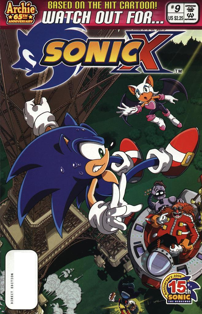 Read online Sonic X comic -  Issue #9 - 1