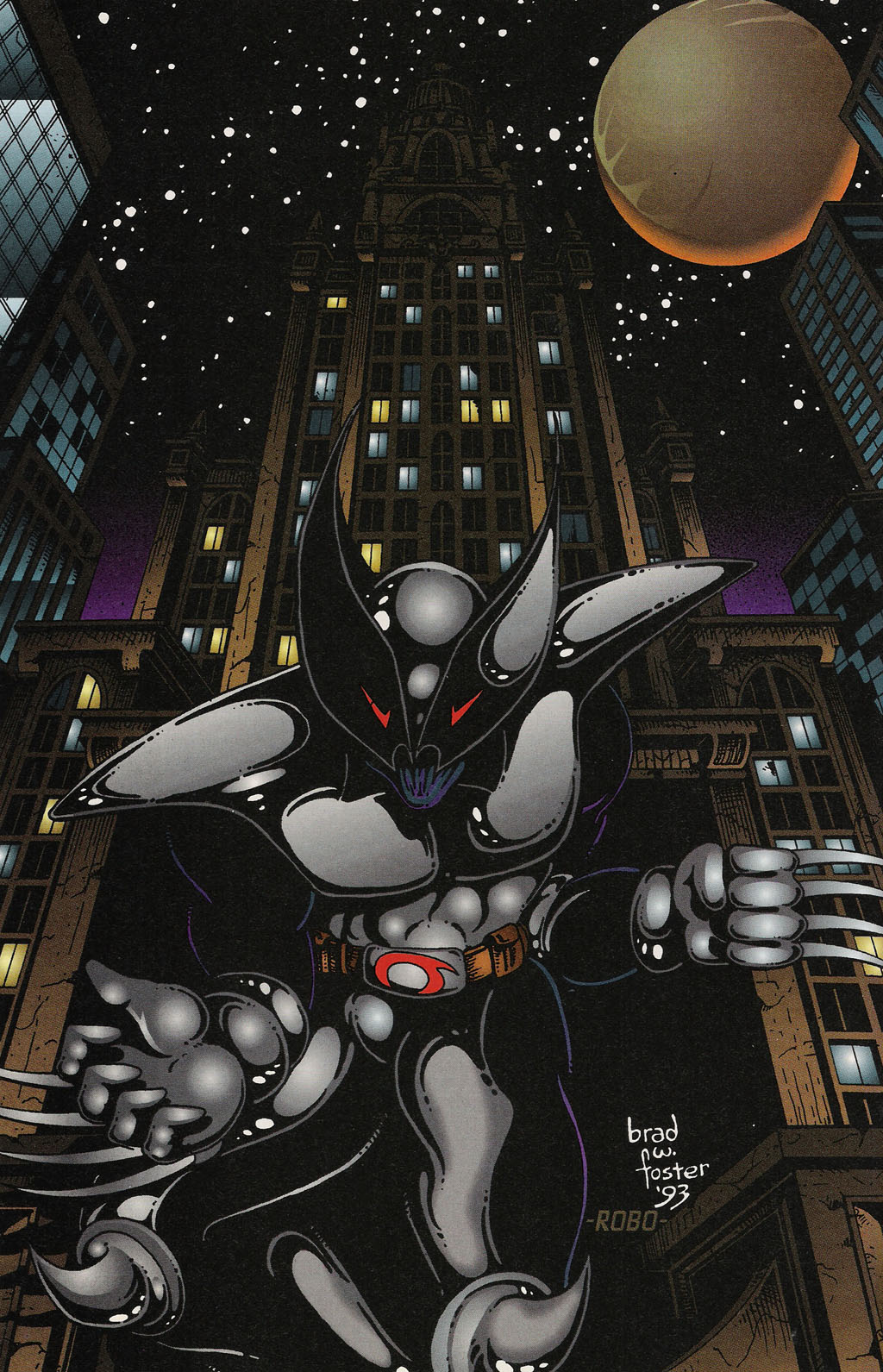 Read online ShadowHawk Gallery comic -  Issue # Full - 10