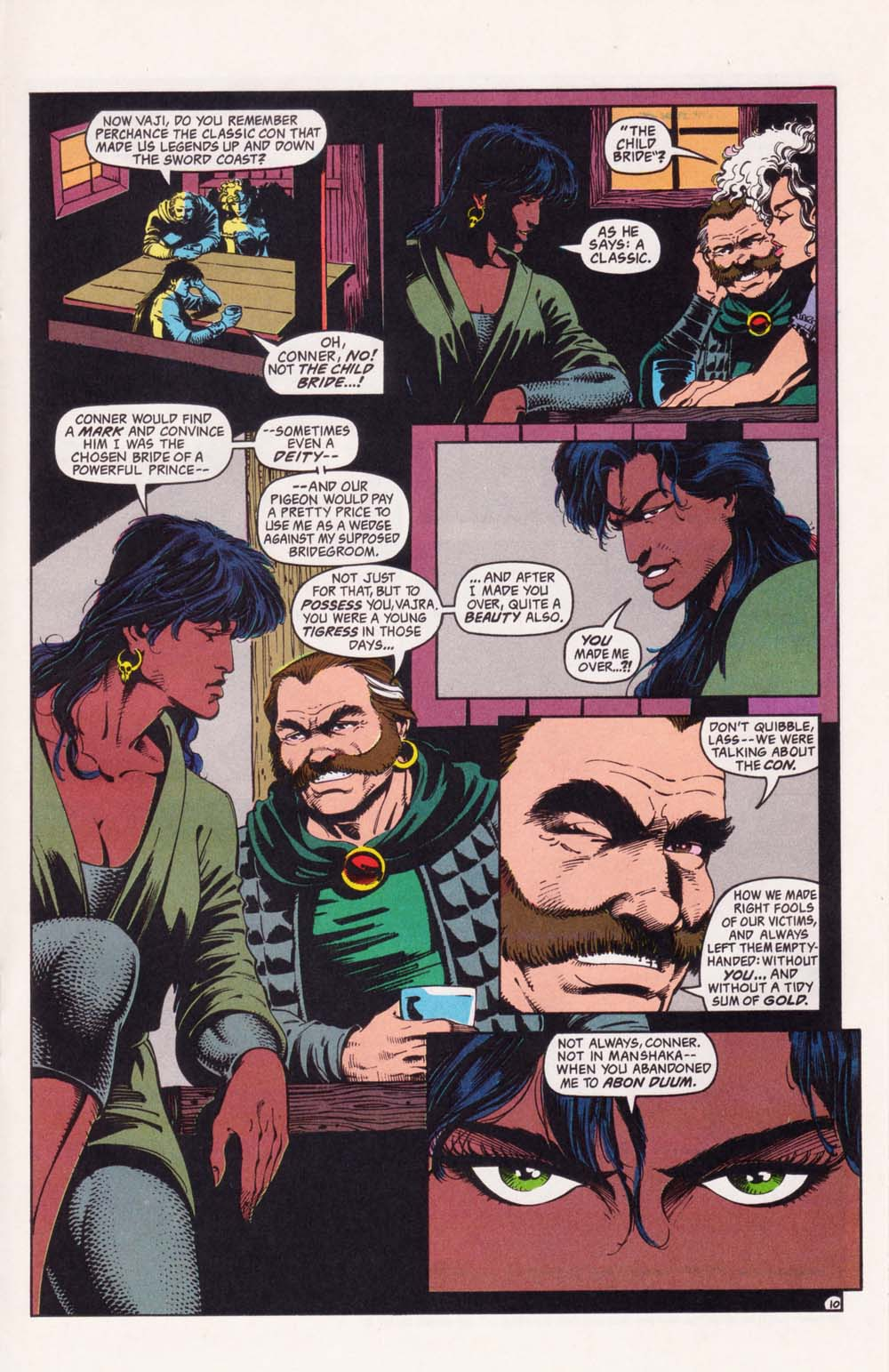 Read online Advanced Dungeons & Dragons comic -  Issue #34 - 10
