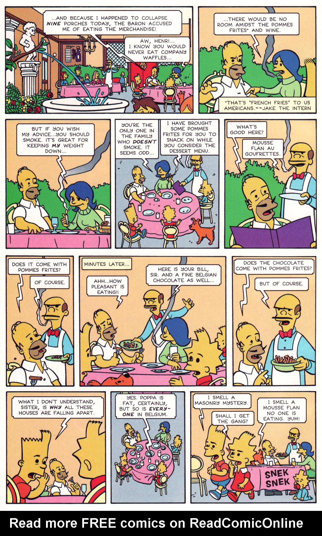 Read online Simpsons Comics comic -  Issue #131 - 15